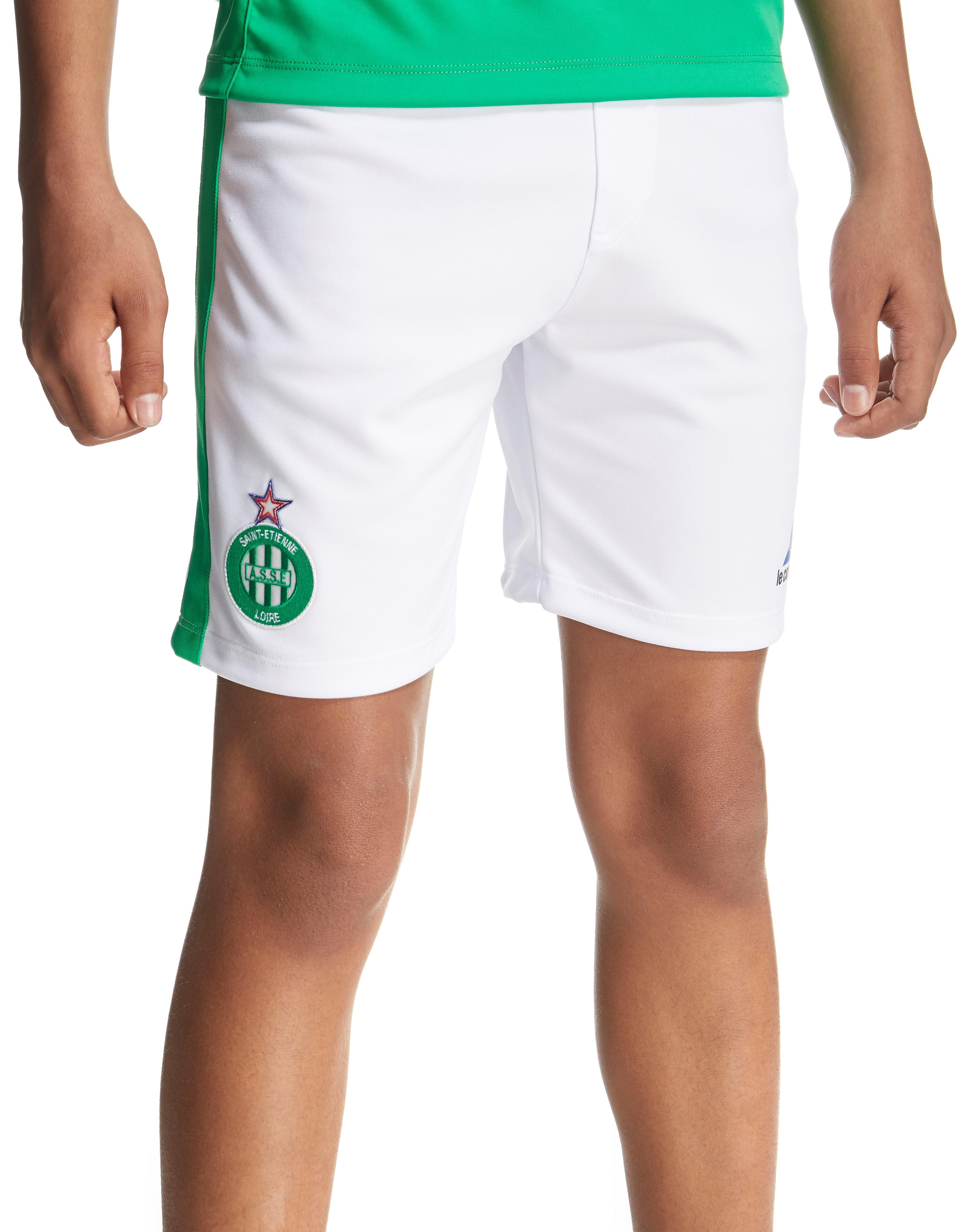 Le Coq Sportif AS Saint Etienne 2016/17 Home Shorts Junior