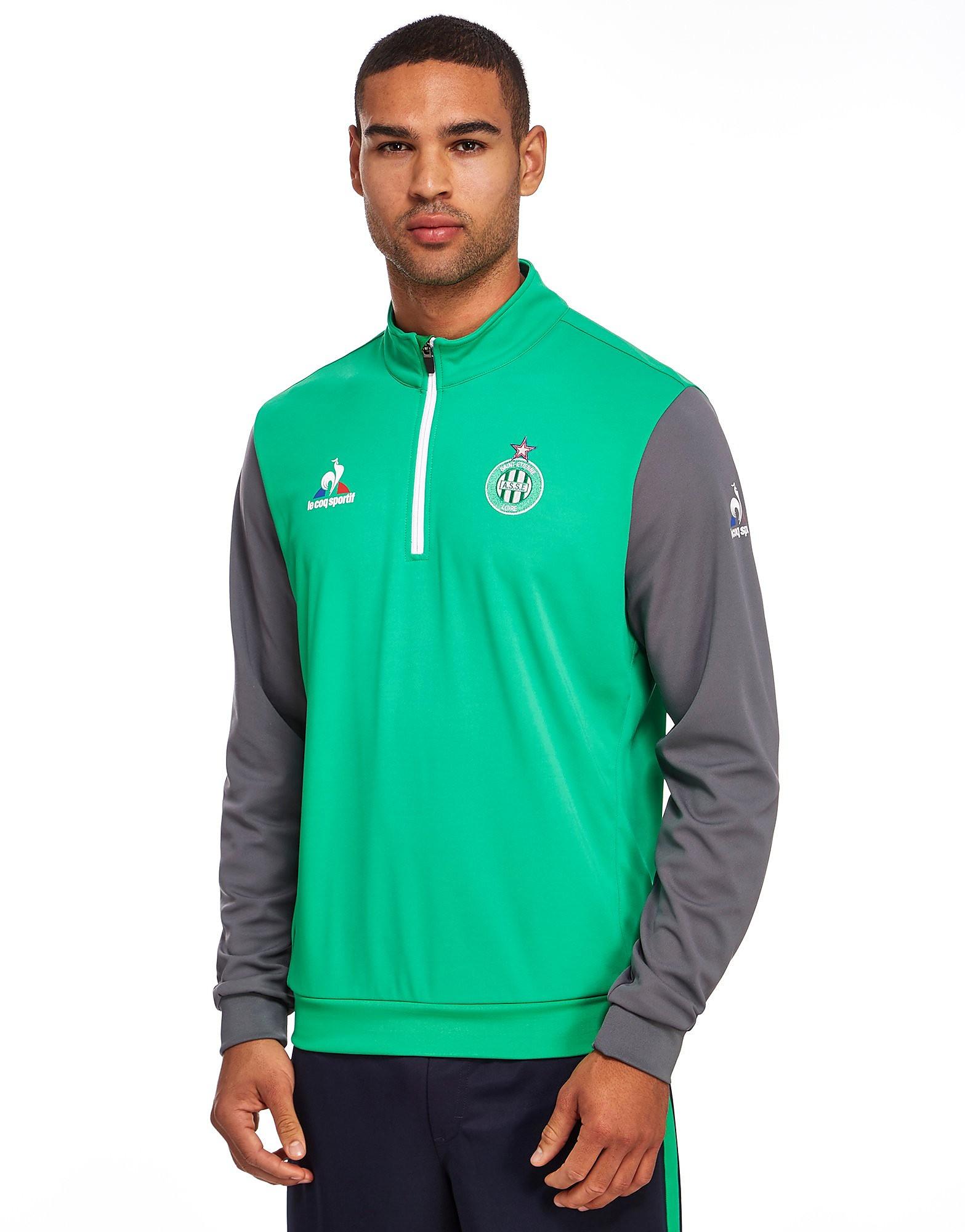 Le Coq Sportif AS Saint Etienne Half Zip Sweatshirt