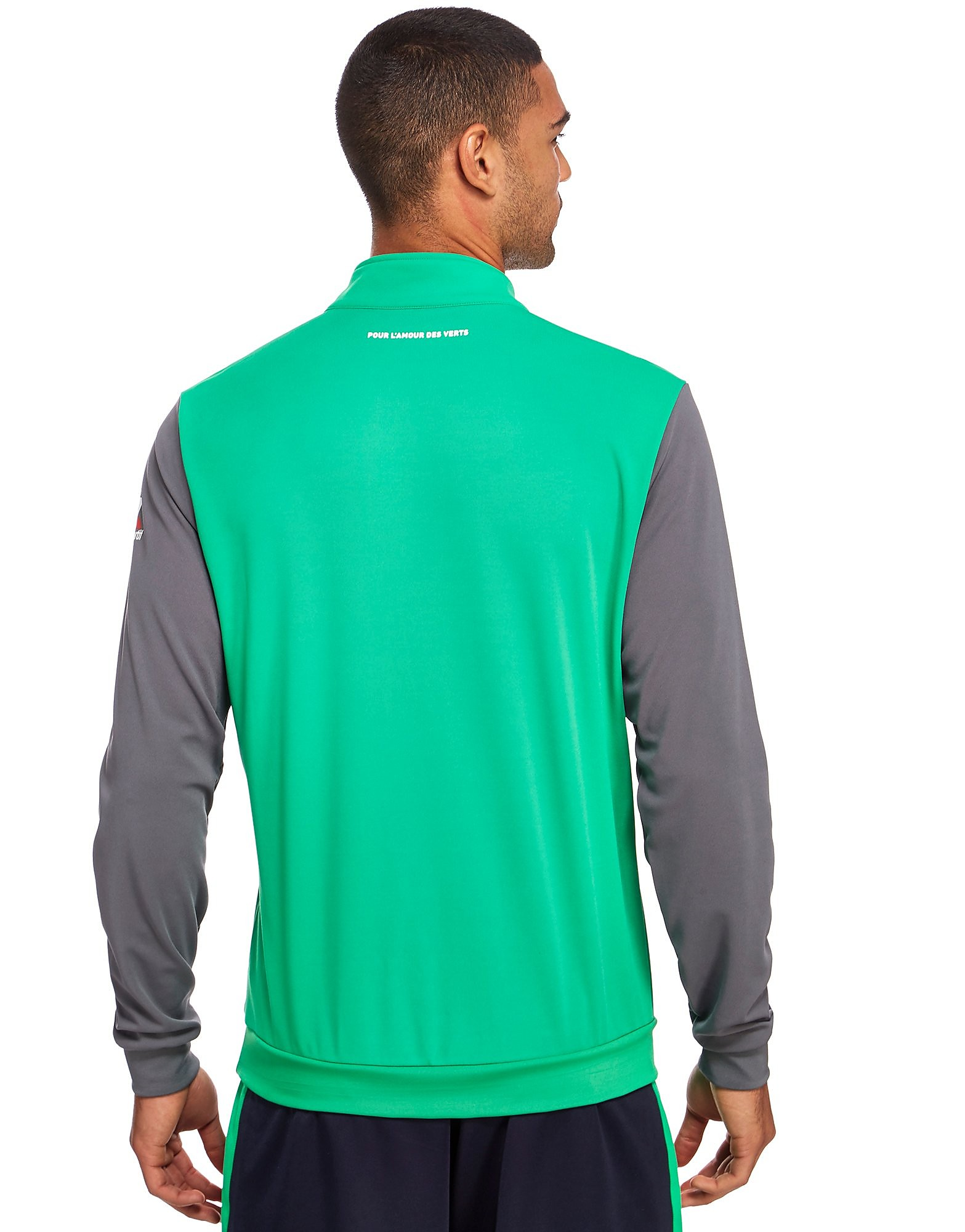 Le Coq Sportif AS Saint Etienne Half Zip Sweatshirt