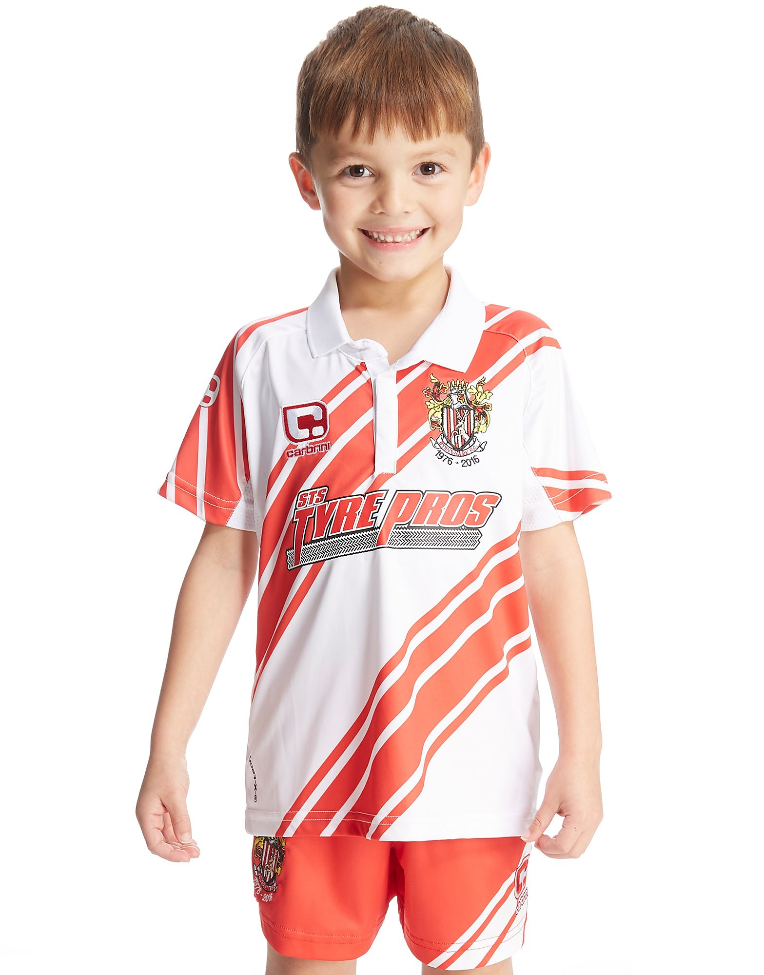 Carbrini Stevenage FC 2016/17 Home Kit Children