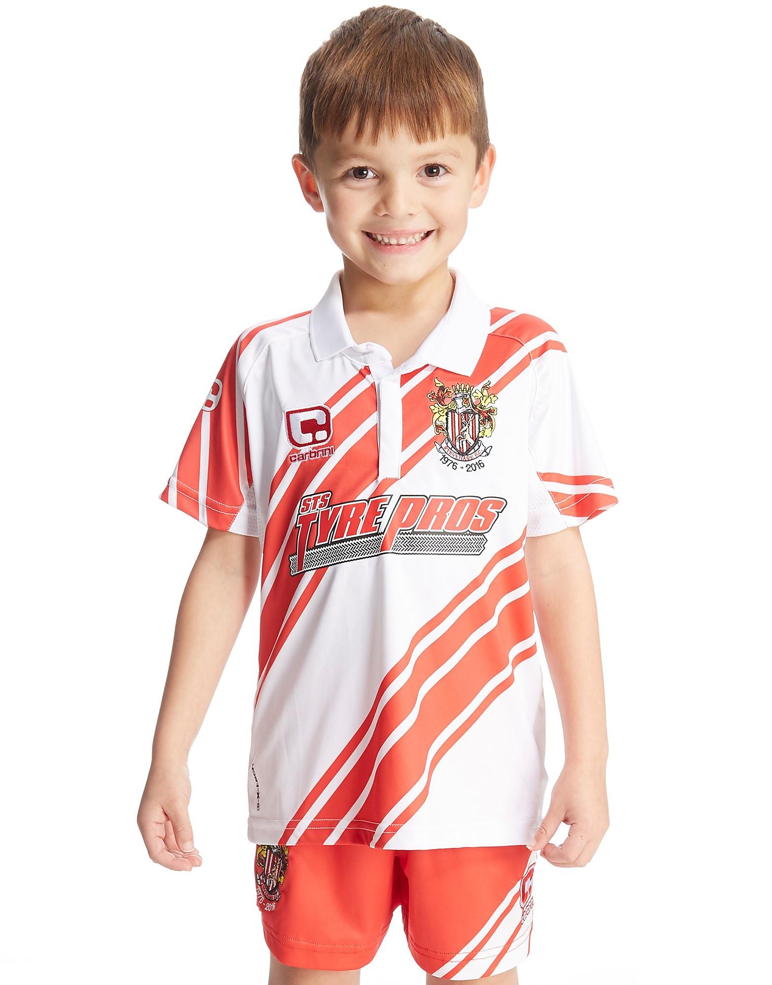 Carbrini Stevenage FC 2016/17 Home Kit Children