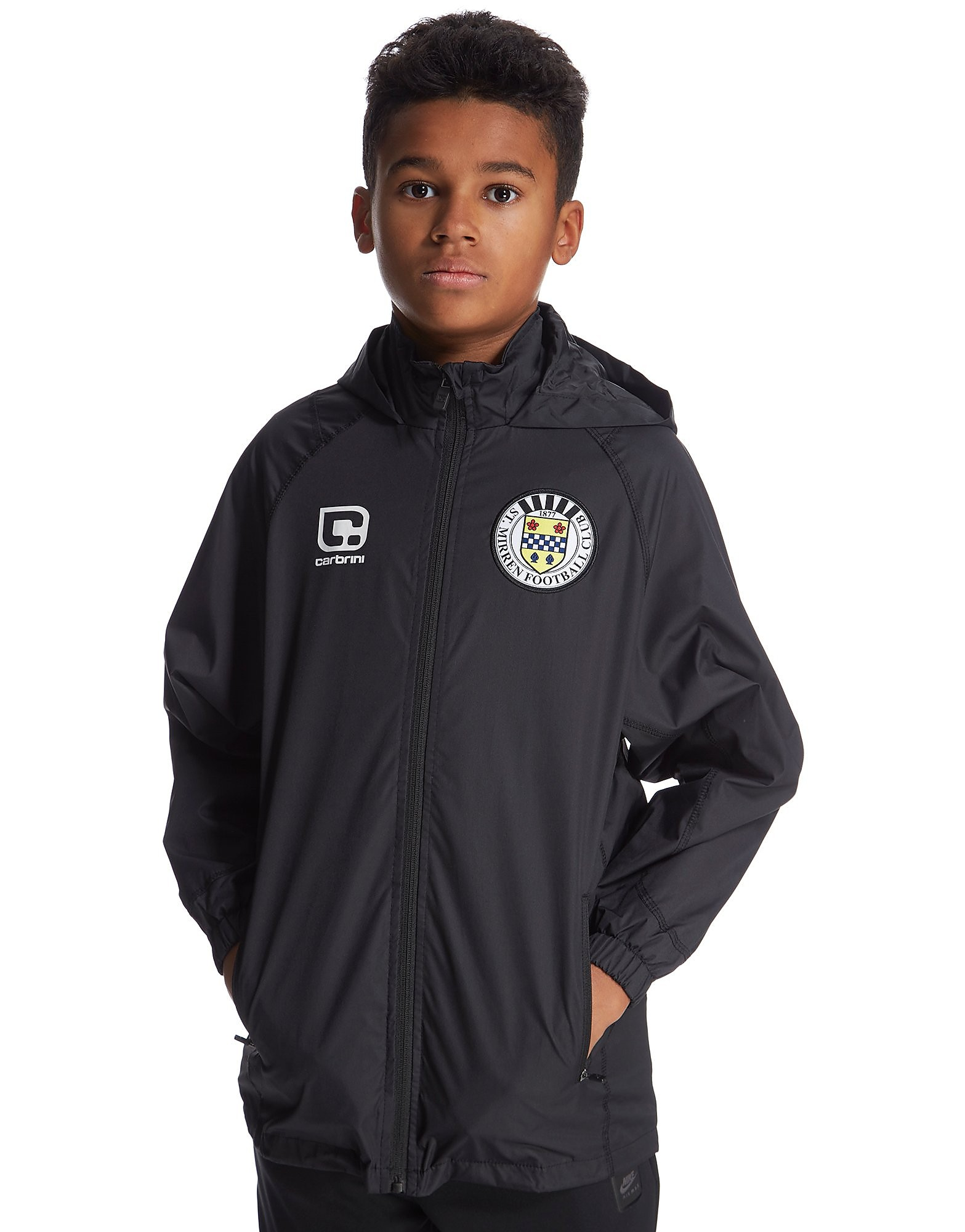 Carbrini St Mirren FC 2016/17 Shower Jacket Junior