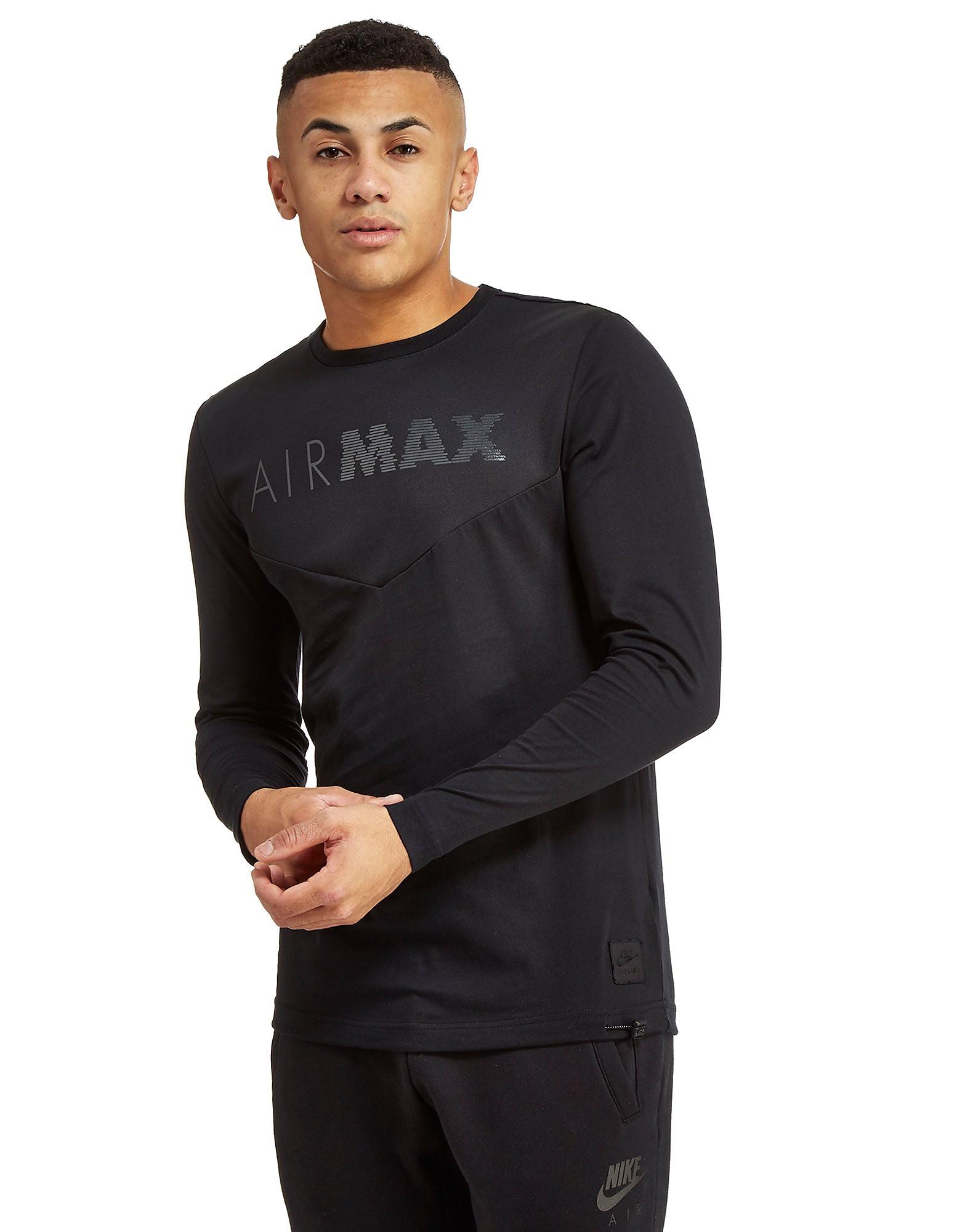 Nike Air Max Long Sleeve Chevron T-Shirt