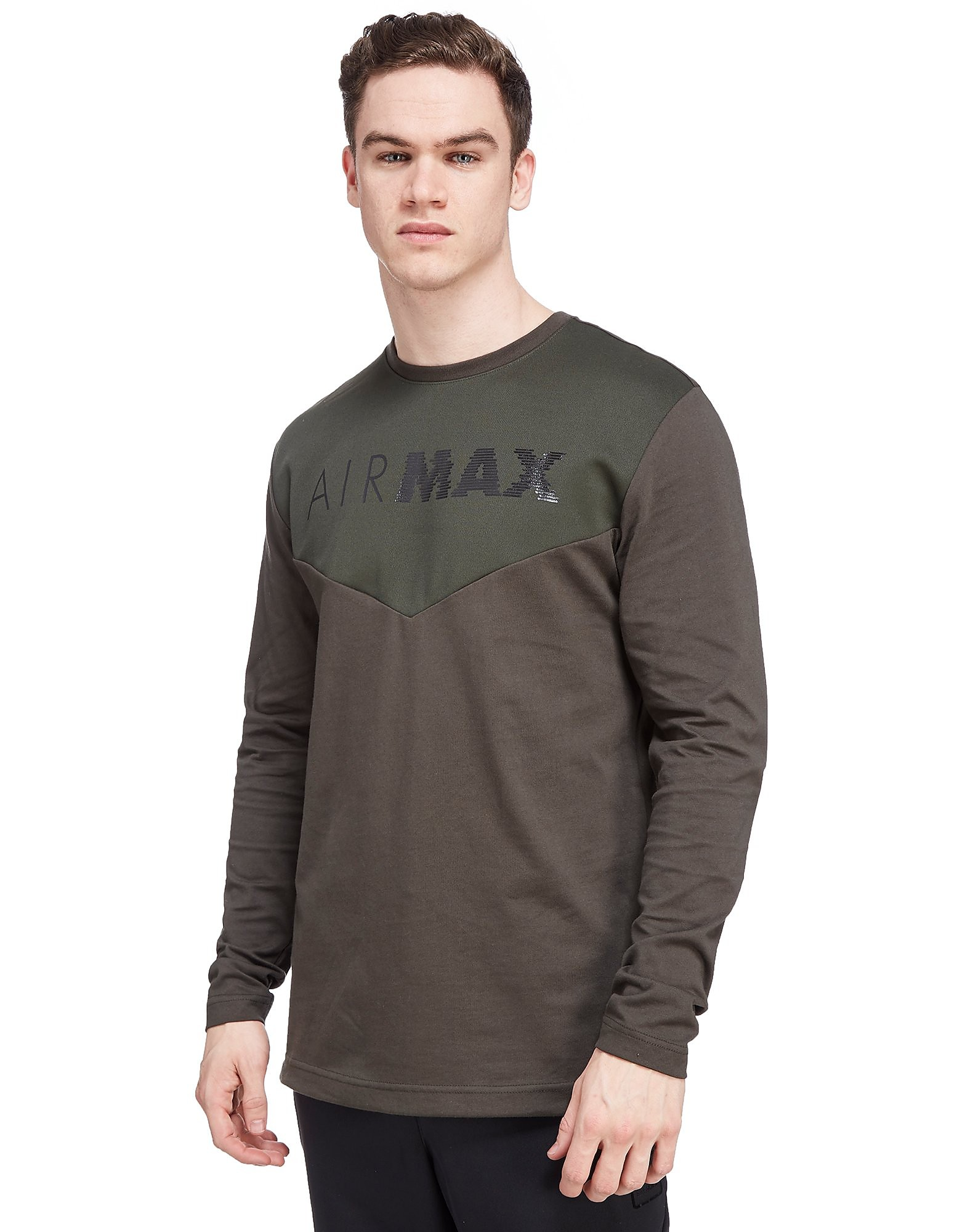 Nike Air Max Long Sleeve Chevron T-Shirt
