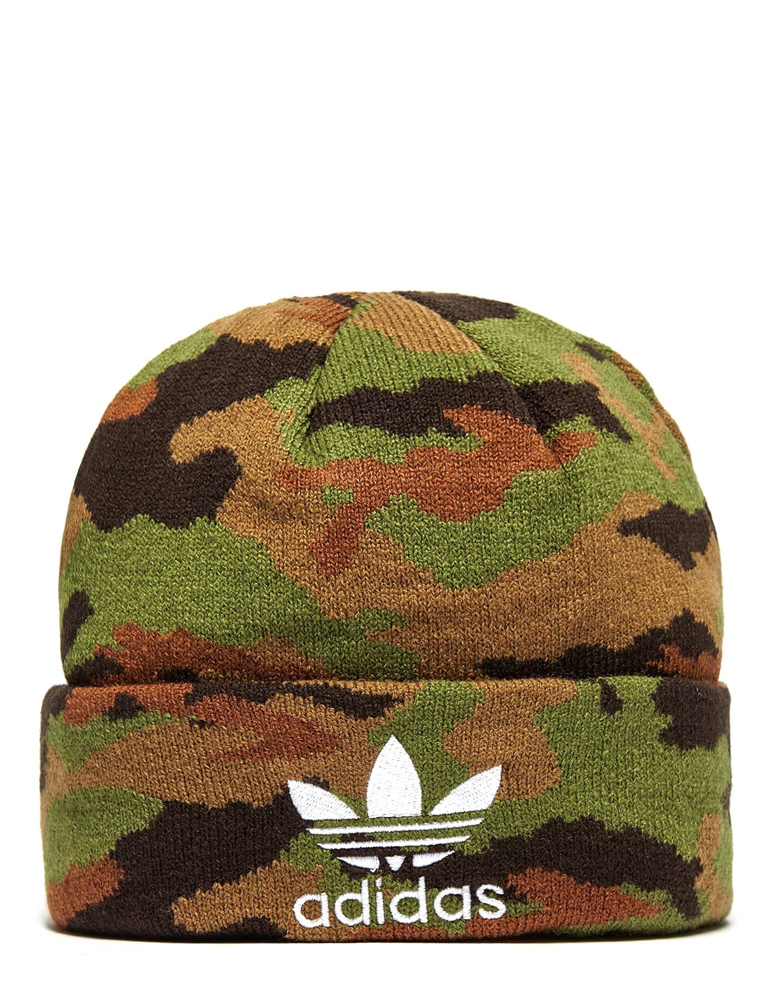 adidas Originals Camouflage Beanie Hat