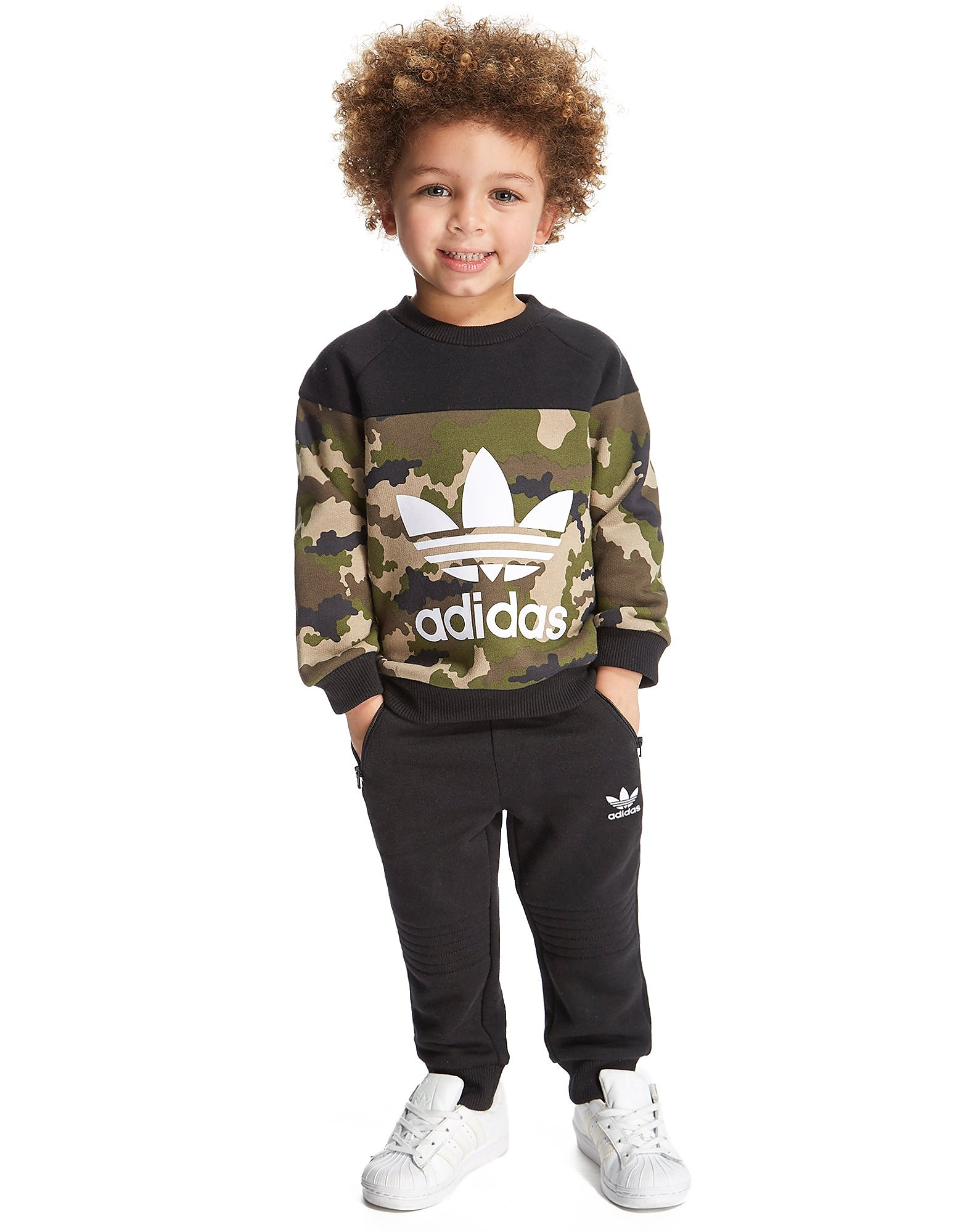adidas Originals Camo Crew Suit Infant