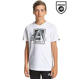 adidas Country Logo T-Shirt Junior