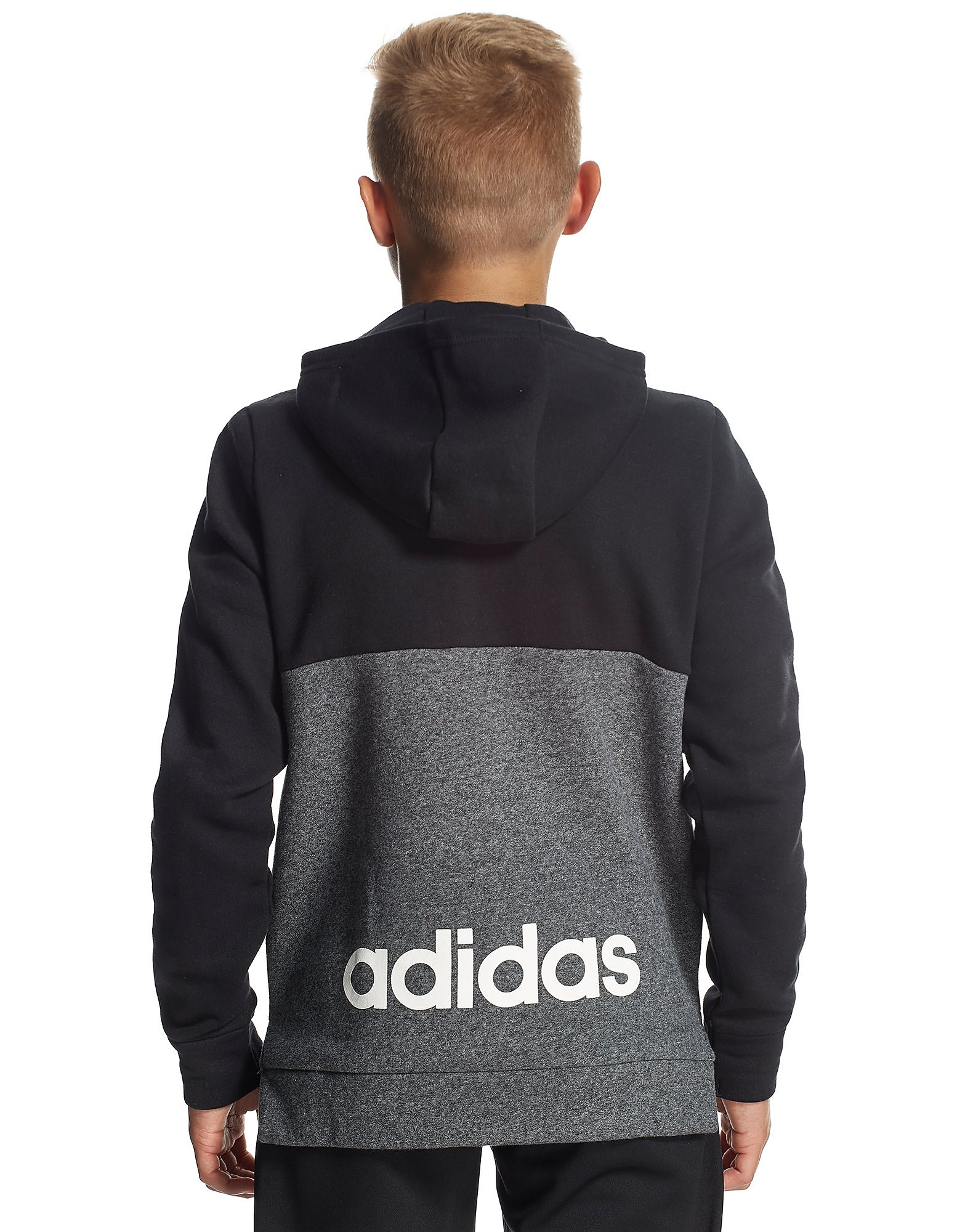adidas Linear Half Zip Hoody Junior