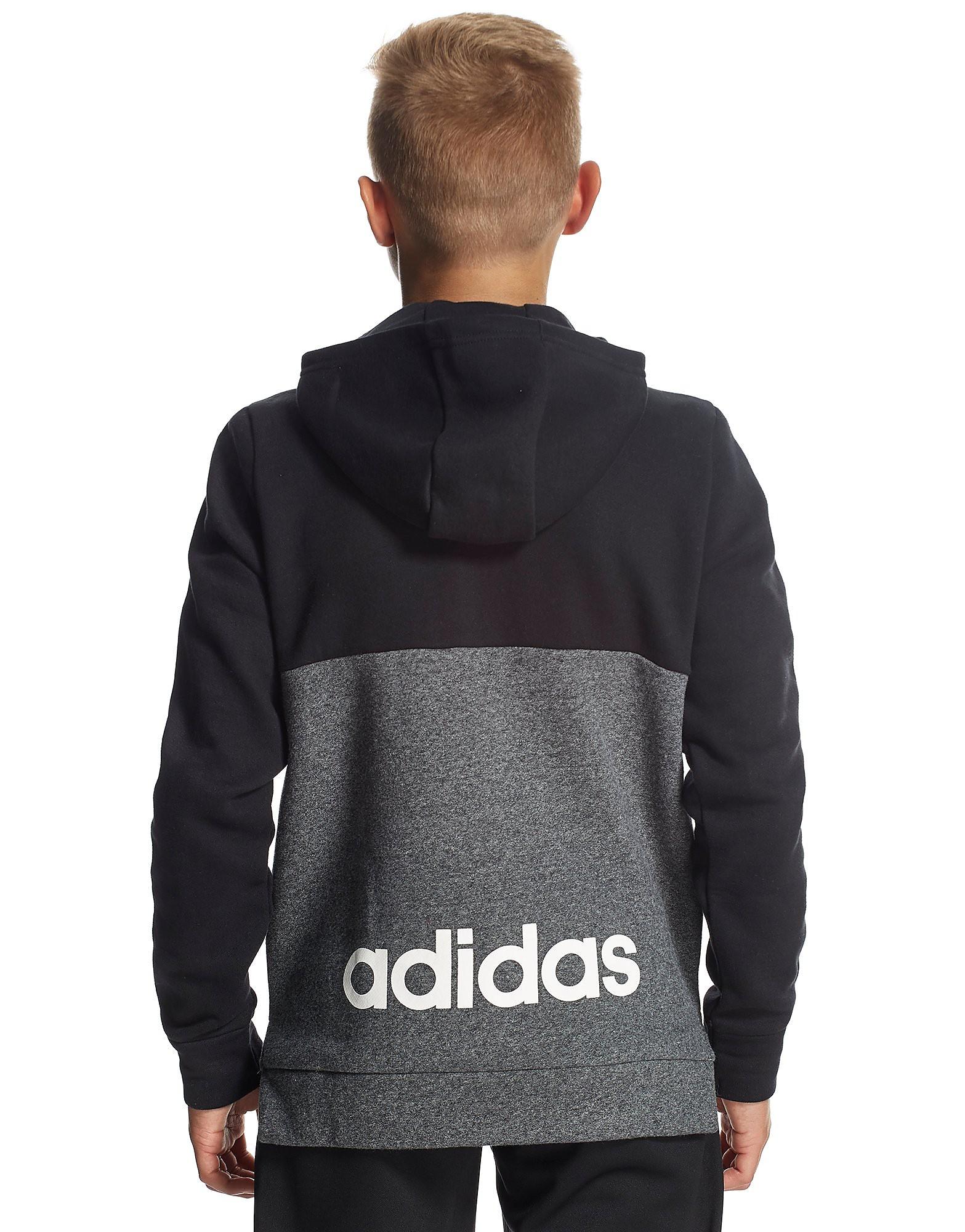 adidas Linear Half Zip Hoody Junior