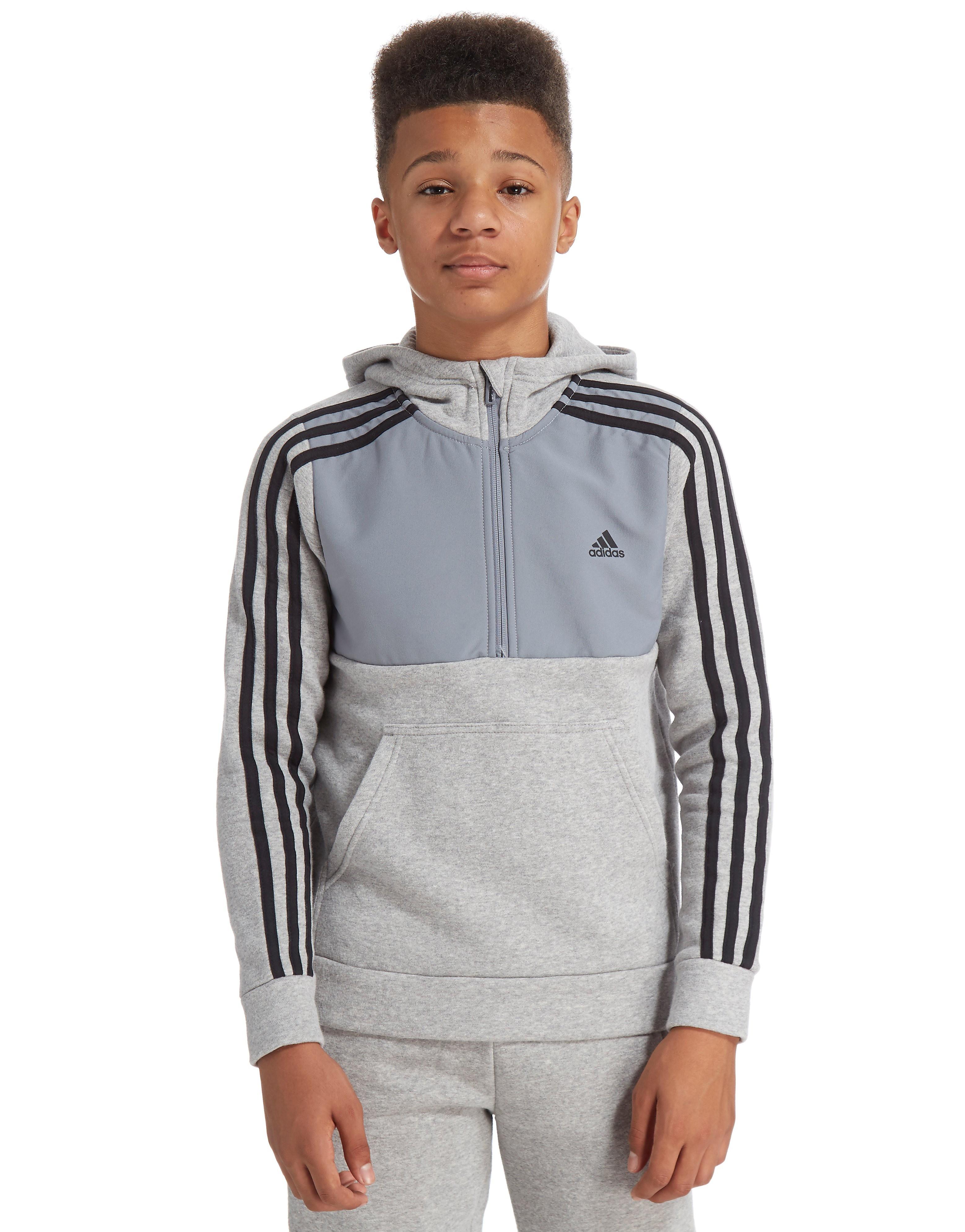 adidas Linear Half-hættetrøje med lynlås junior