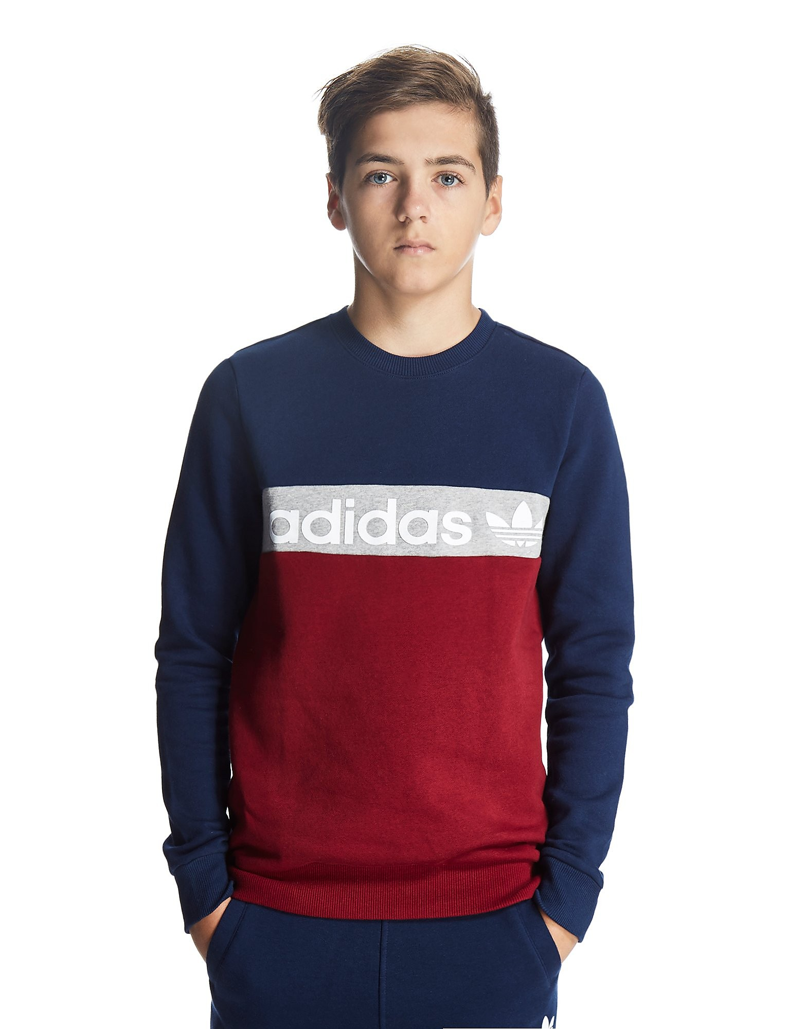 adidas Originals Colour Block Sweatshirt Junior