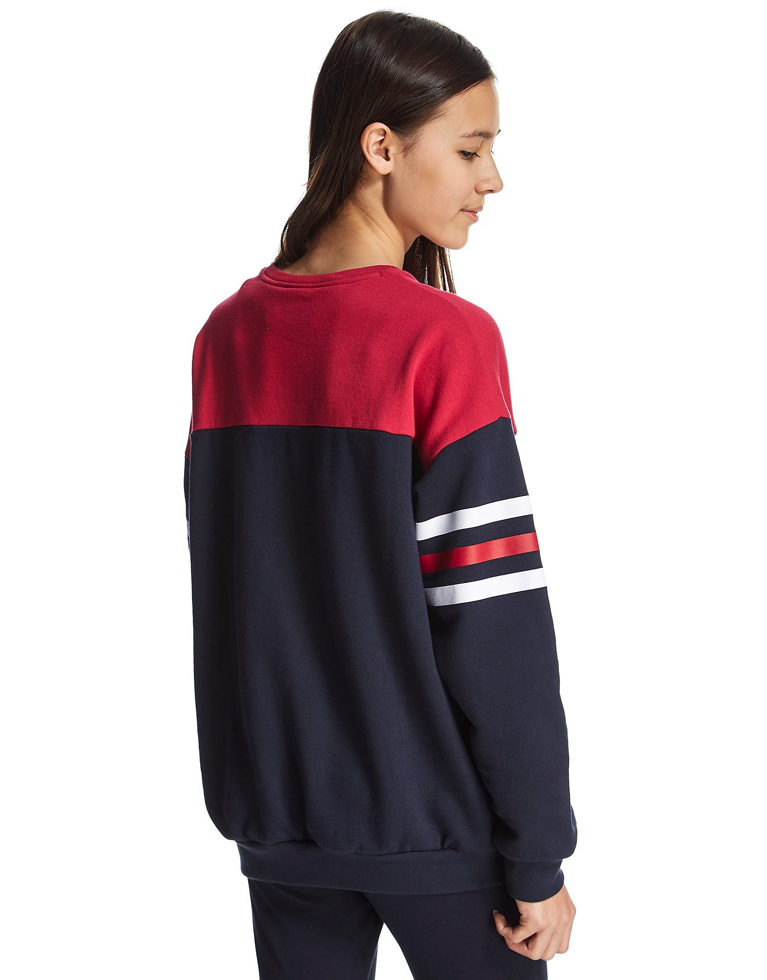 adidas Originals Girls' Colour Block Crew Sweatshirt Junior