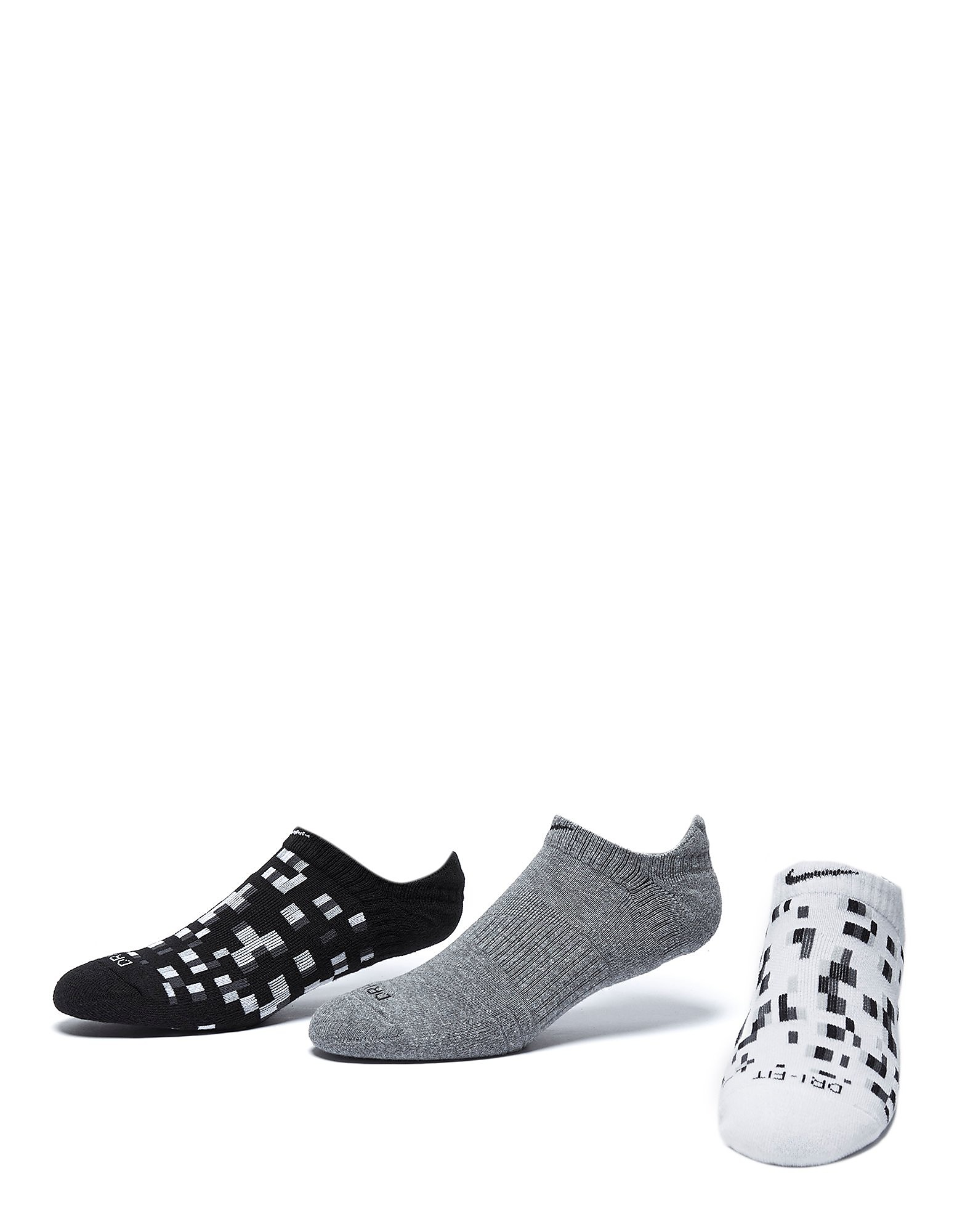 Nike Dry Graphic No-Show Socks (3 Pack)