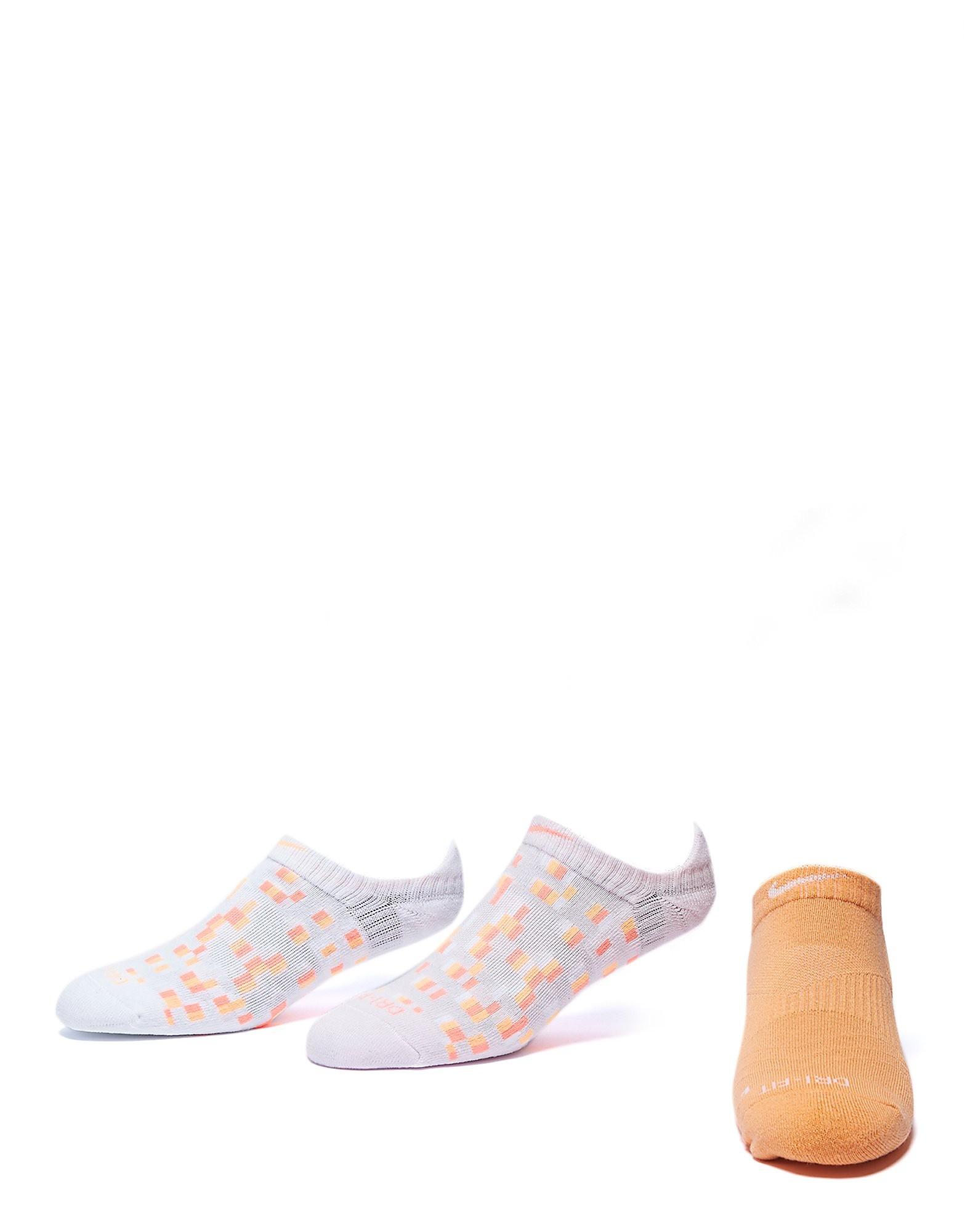 Nike Dry Graphic No-Show Socken (3er-Pack)