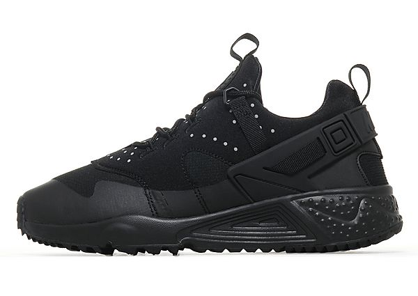 cheap for discount fcb22 c21e7 Nike Air Huarache Utility Mens Trainers Black | 806807-004 | FOOTY.COM