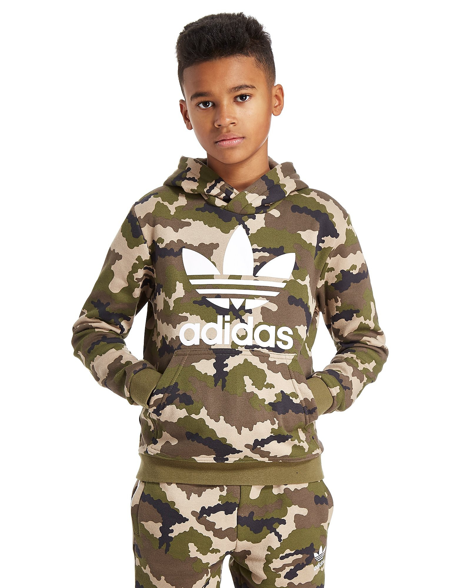 adidas Originals Camo Hoody Junior
