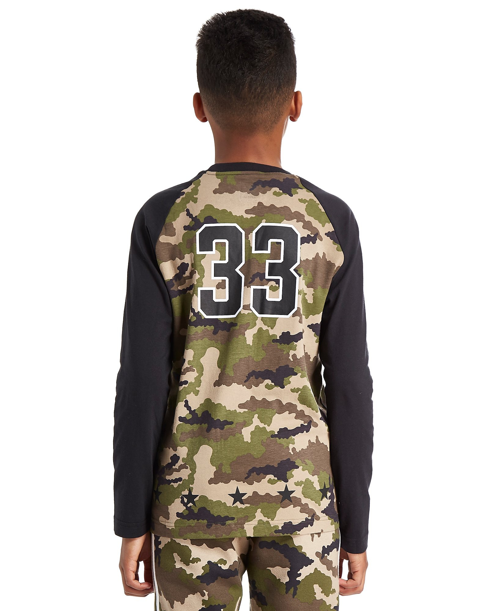 adidas Originals Camo Longsleeve T-Shirt Junior