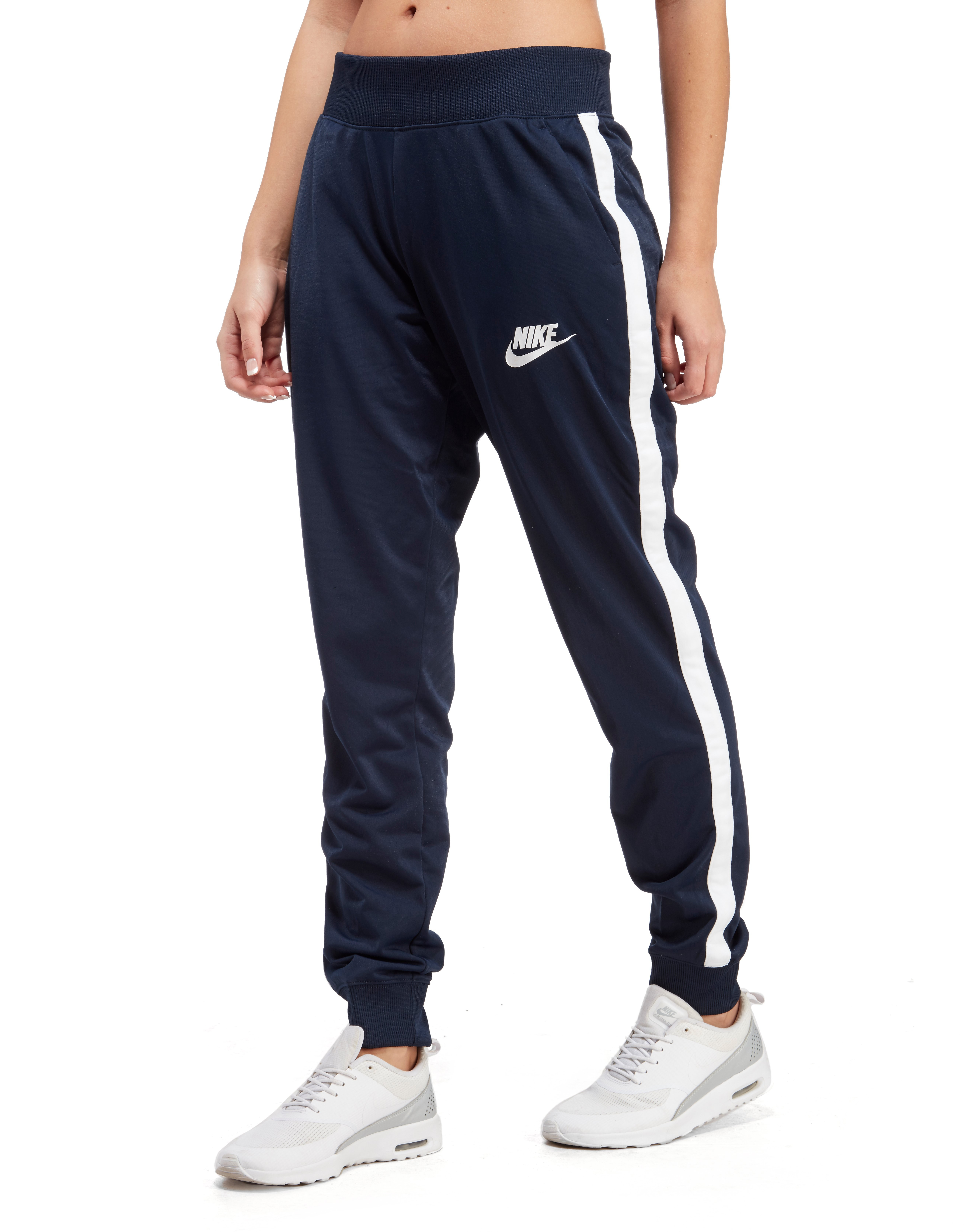 Paine Gillic hermosa semiconductor  Nike Poly Track Pants - Navy/White - Womens - Sports King Store