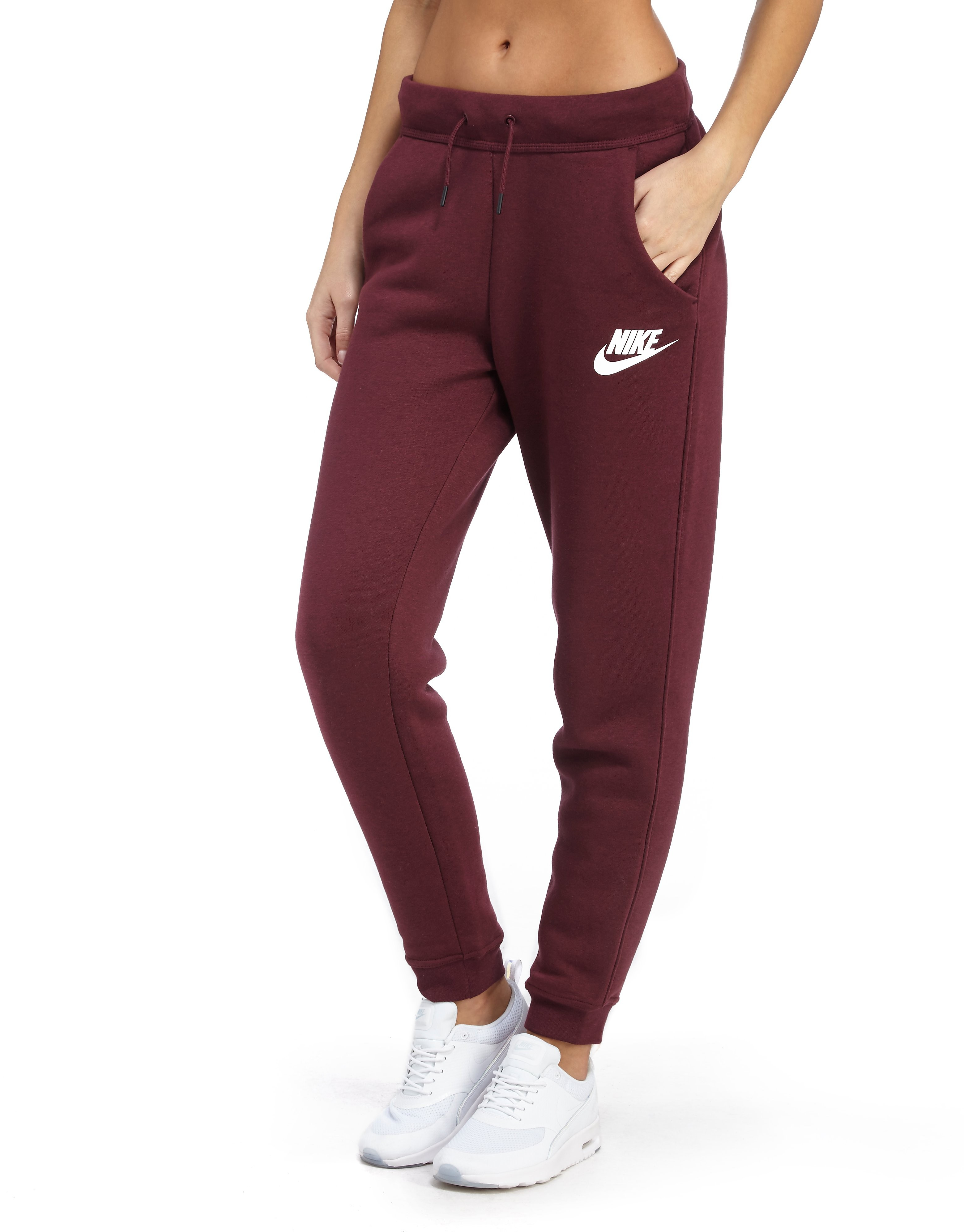 1b34c0ac4d02 Nike Rally Jogger - Burgundy White - Womens - Sports King Store