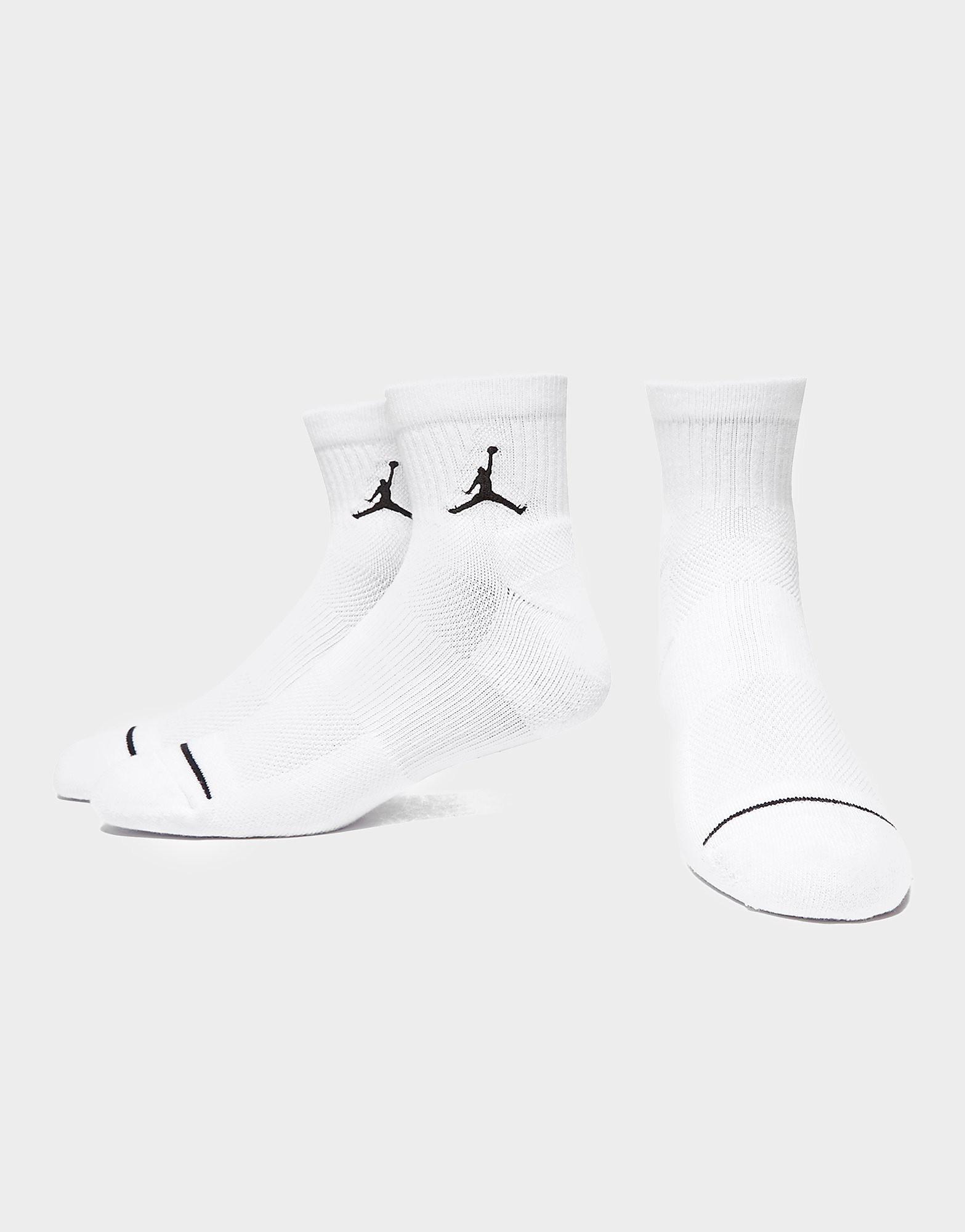 Jordan 3 Pak Drift Lav Quarter Sokker
