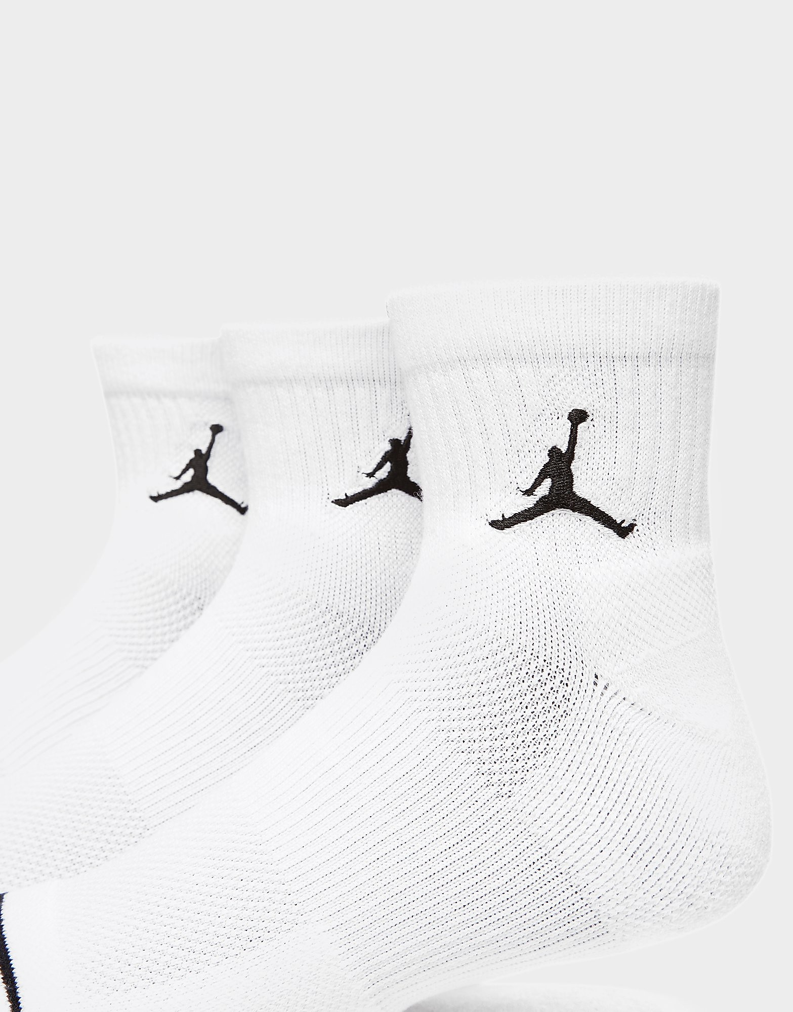 Jordan 3 Pack Drift Low Quarter Socks
