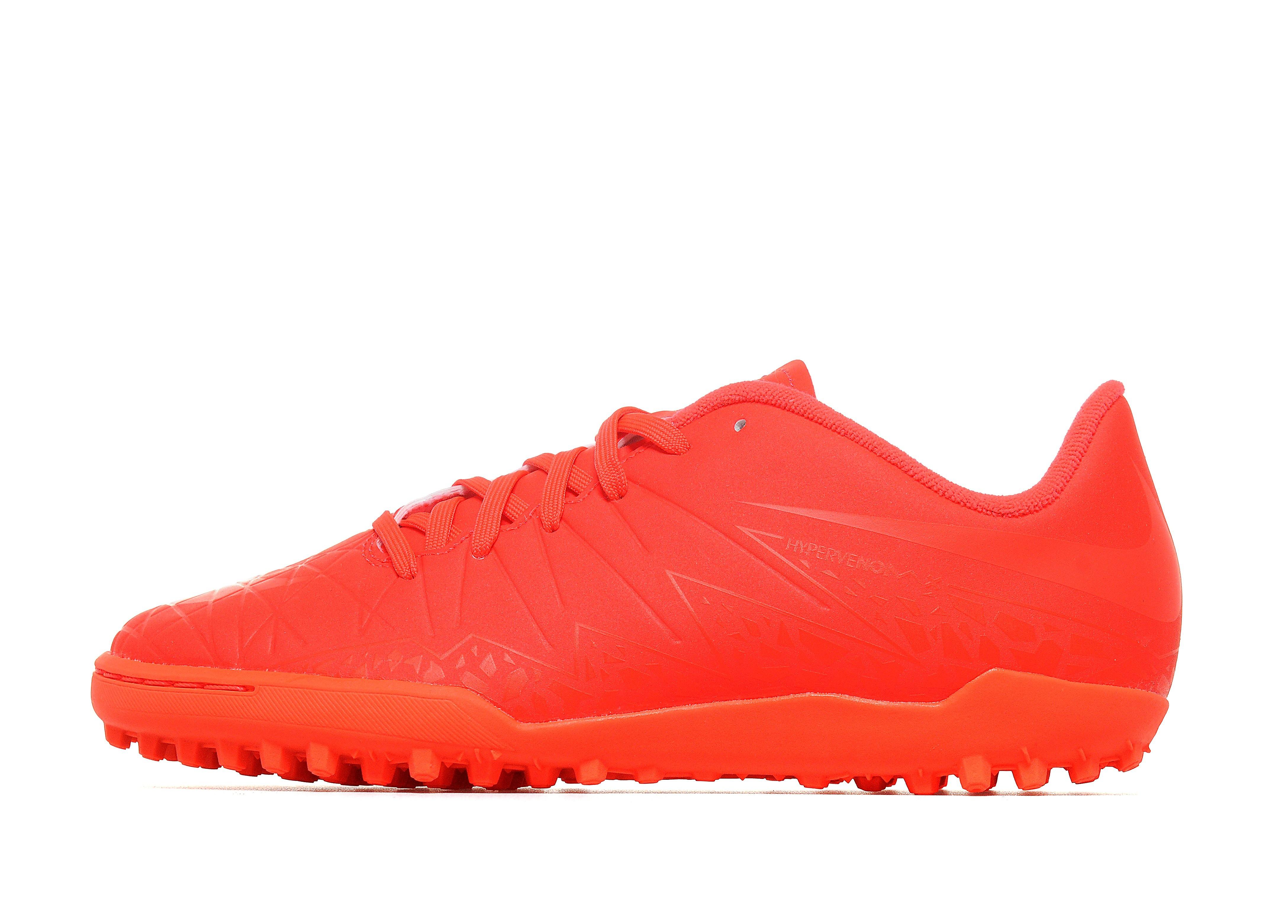 Nike Football X Glow Hypervenom Phelon II Turf Junior