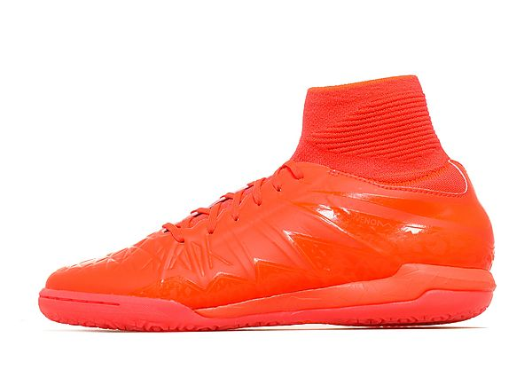 cheap for discount e9a22 2777a Nike Hypervenom Proximo II Glow Indoor Kids Football Boots Red