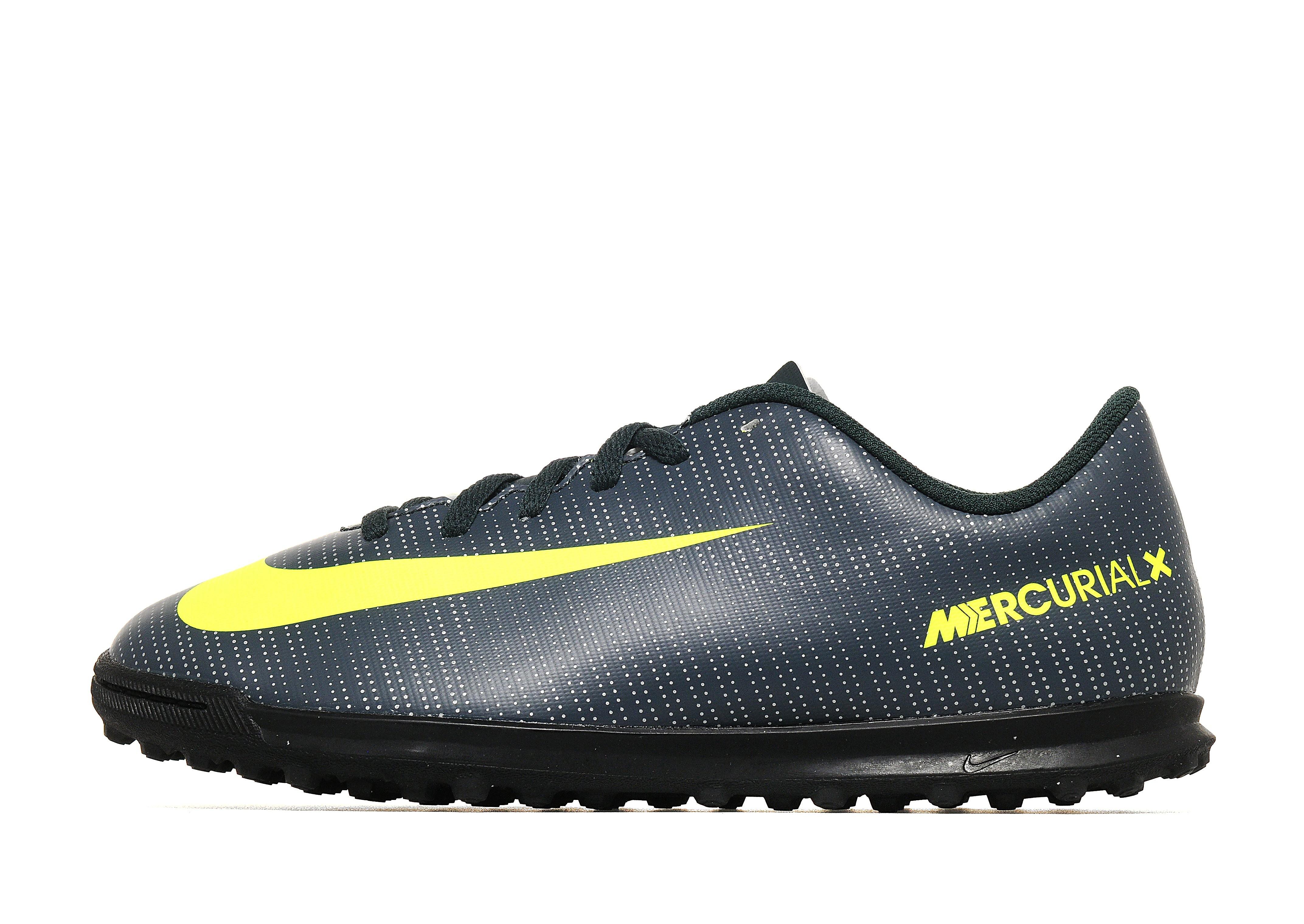 Nike Chapter 3 Mercurial Vortex III CR7 Turf Junior - Seaweed/Green - Kids  - Sports King Store