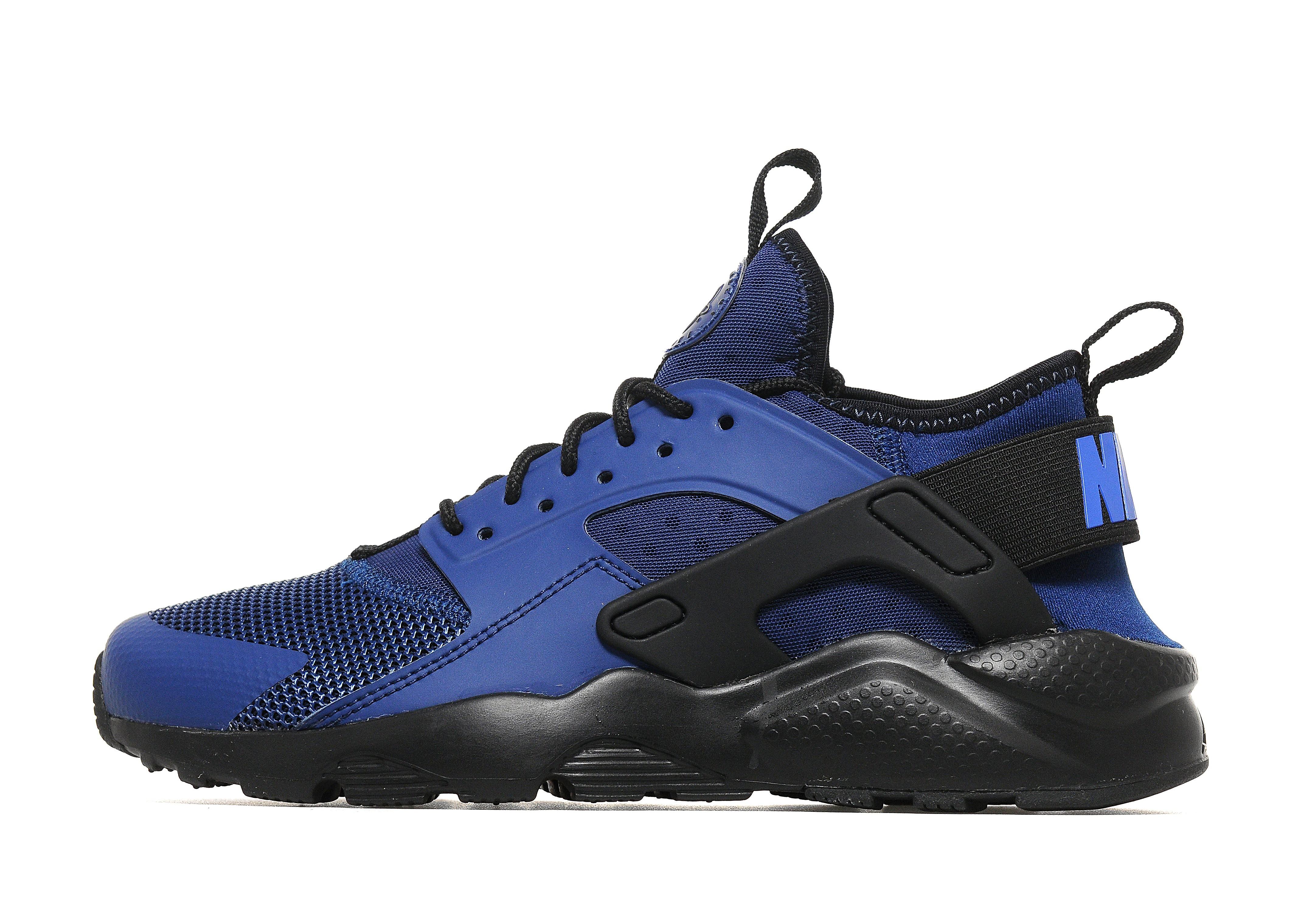 brand new a856c 96819 ... discount nike huarache ultra breathe junior blue black kids sports king  store 5fc39 009c3