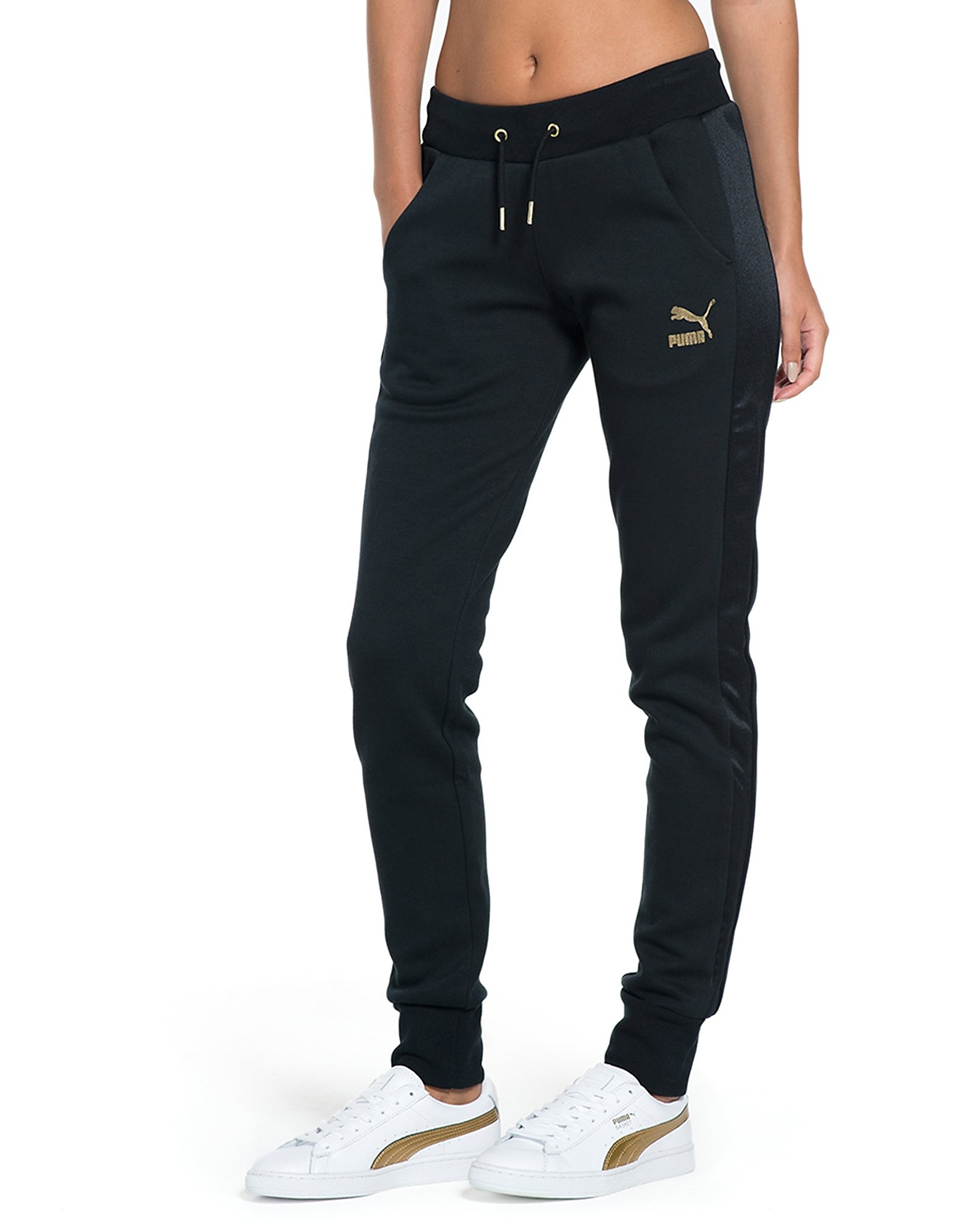PUMA Gold Pack Logo Pants