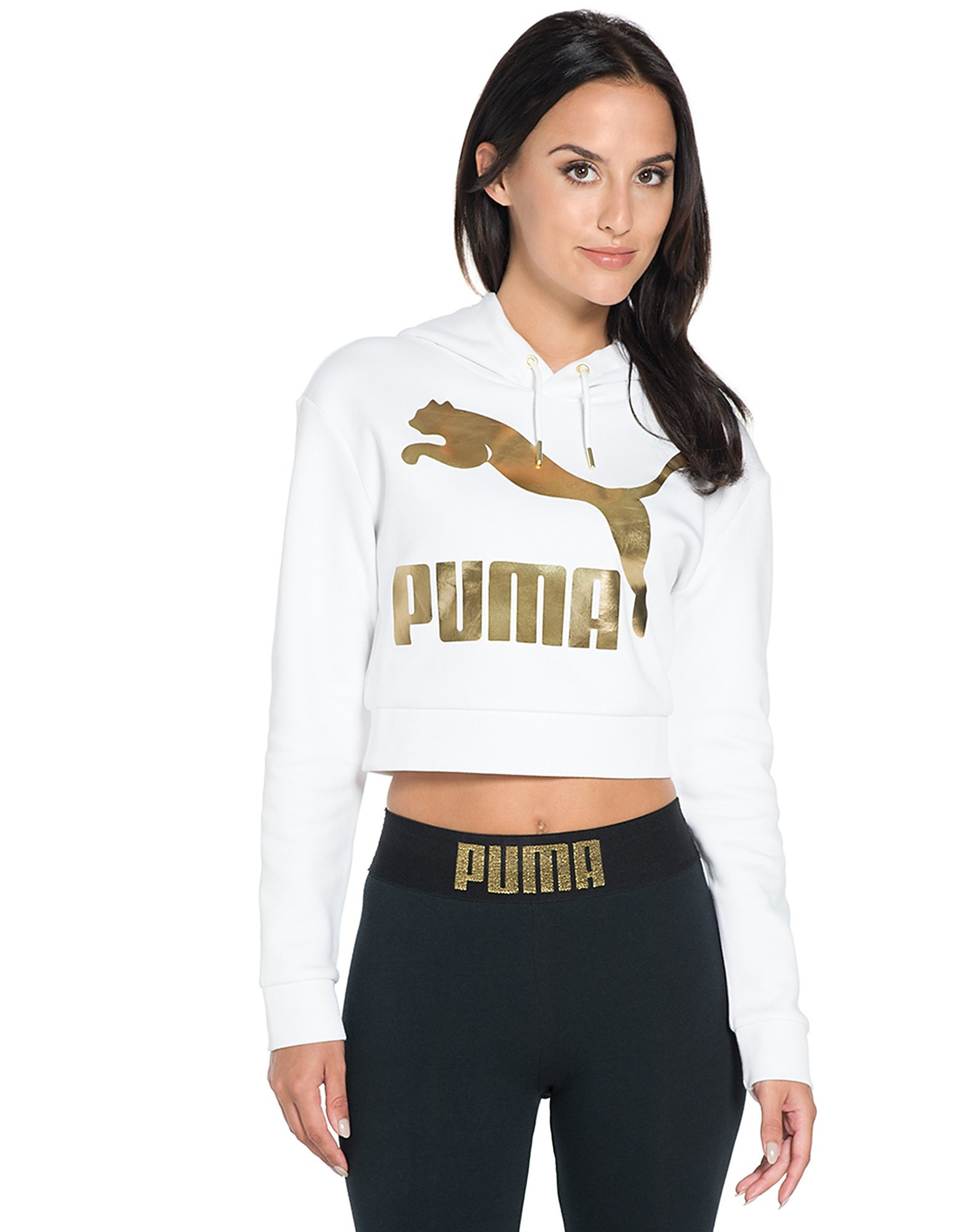 PUMA Gold Pack Cropped Overhead Hoody