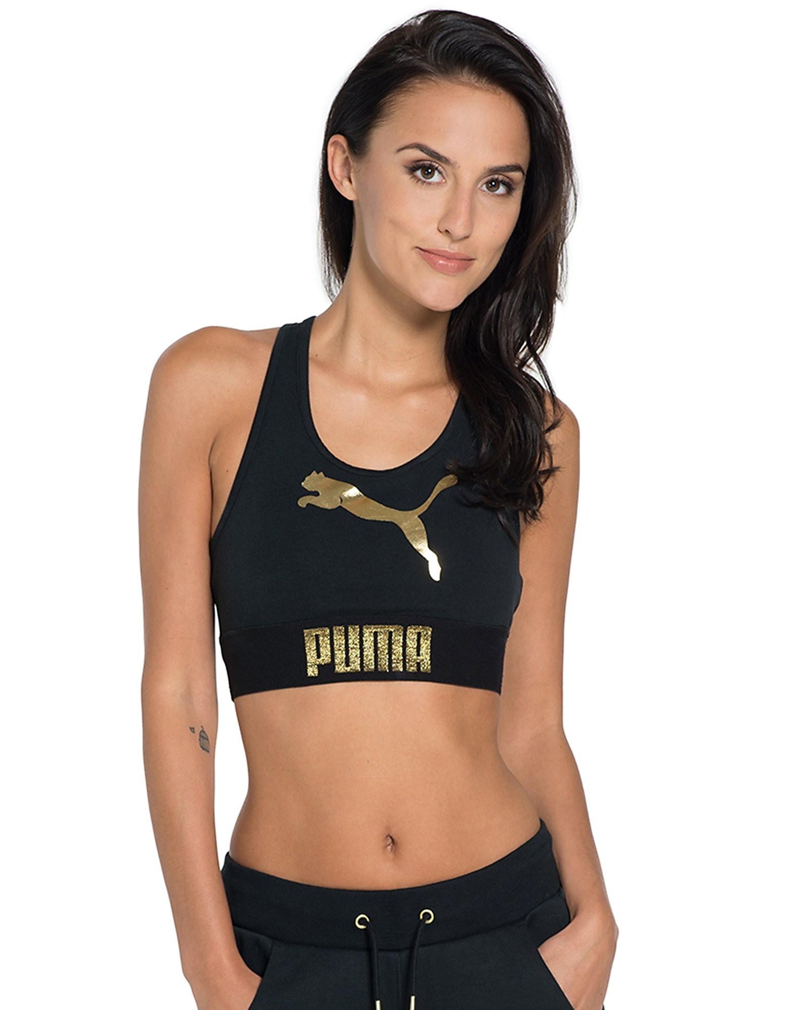 PUMA Gold Pack Logo Bra