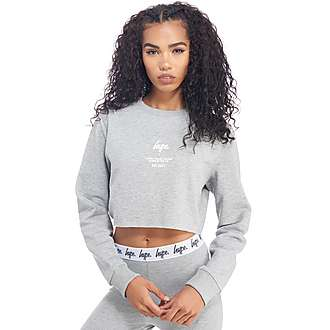 Hype Crop Sweatshirt
