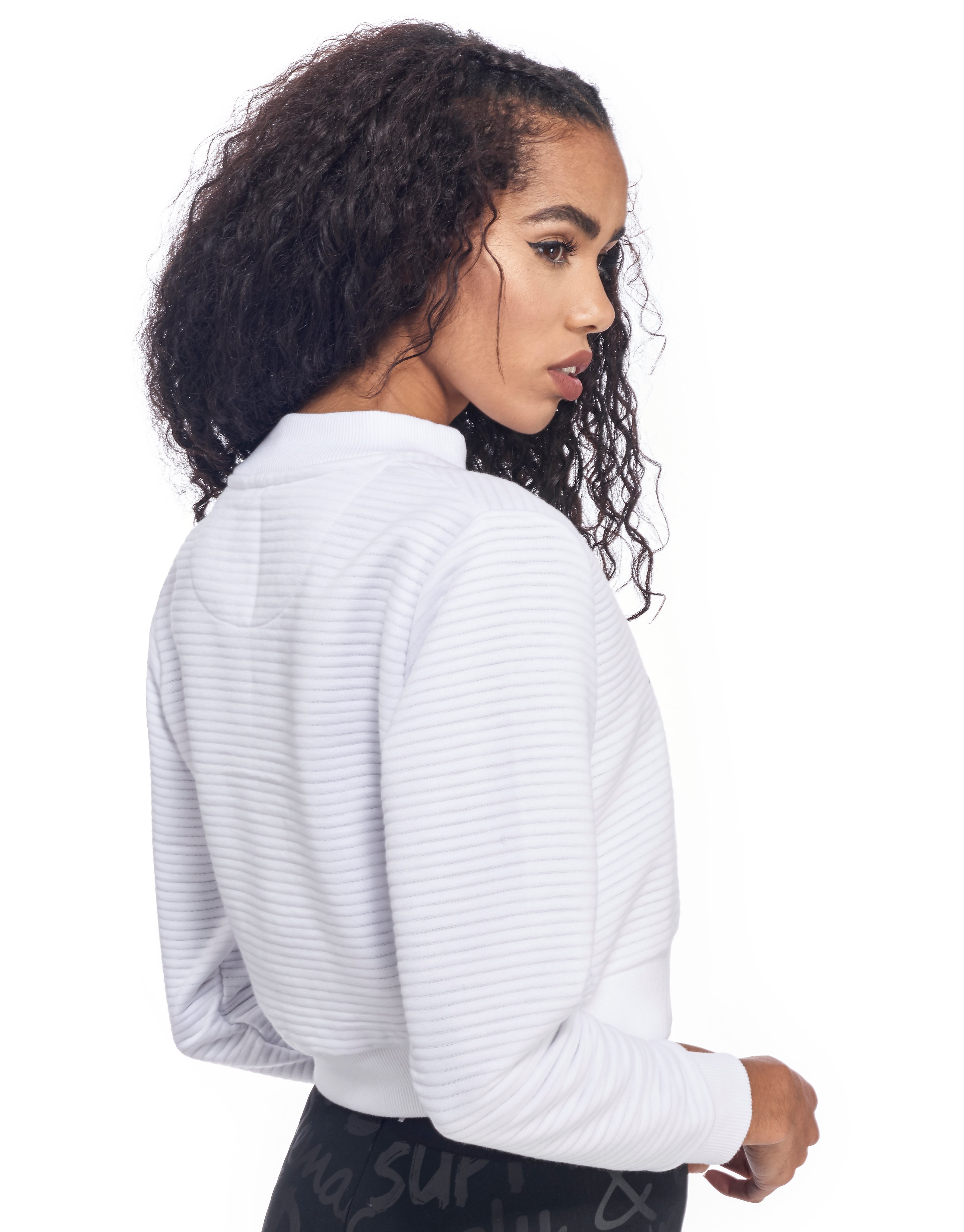 Supply & Demand Ribbed Sweatshirt