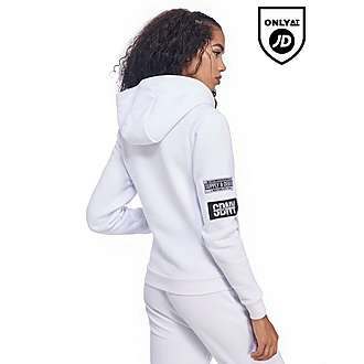 Supply & Demand White Tape Full Zip Hoody