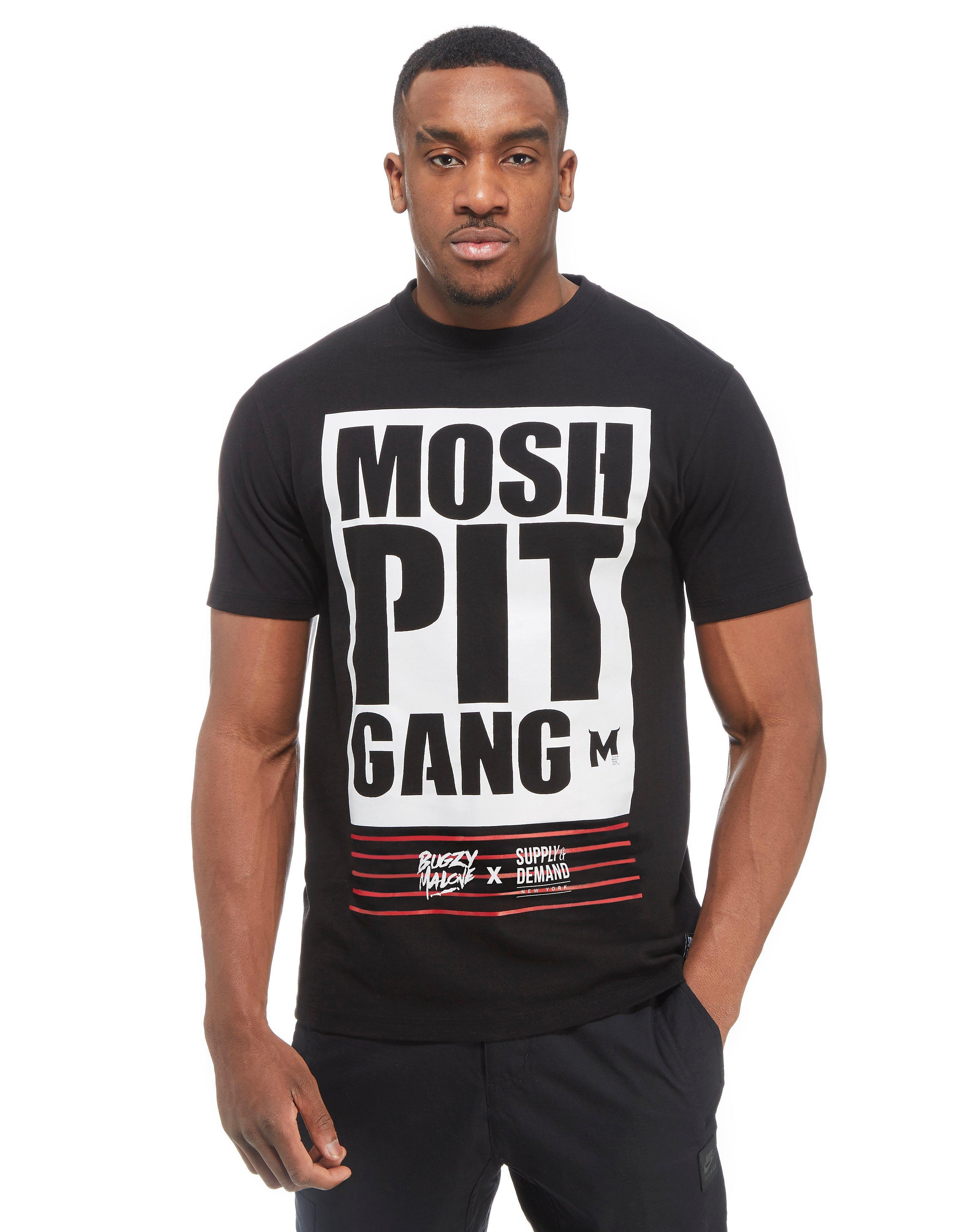 Supply & Demand x Bugzy Malone Mosh Pit Gang T-Shirt