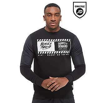 Bugzy x Supply and Demand Warner Crew Sweatshirt