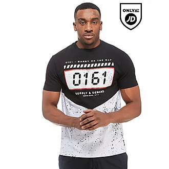 Supply & Demand x Bugzy Malone Digi Splat T-Shirt