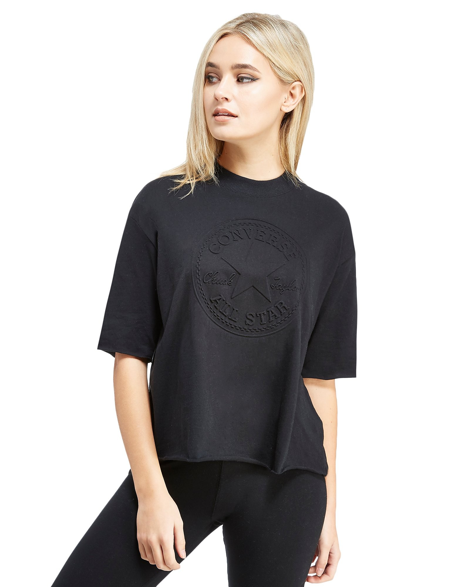 Converse Chuck Embossed Mock Neck T-Shirt