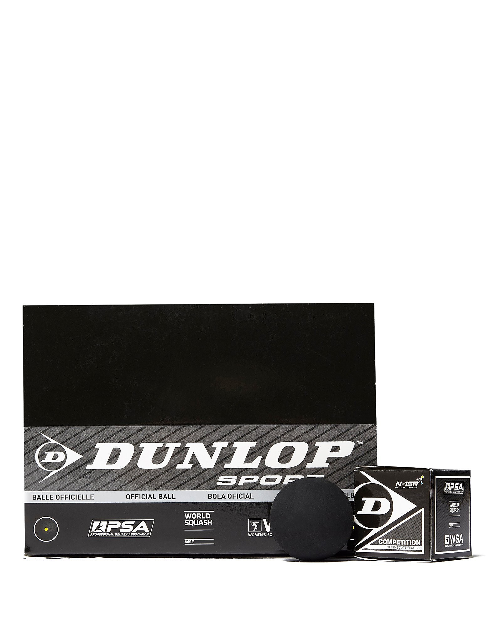 Dunlop Competition Squash Balls (Single Spot)