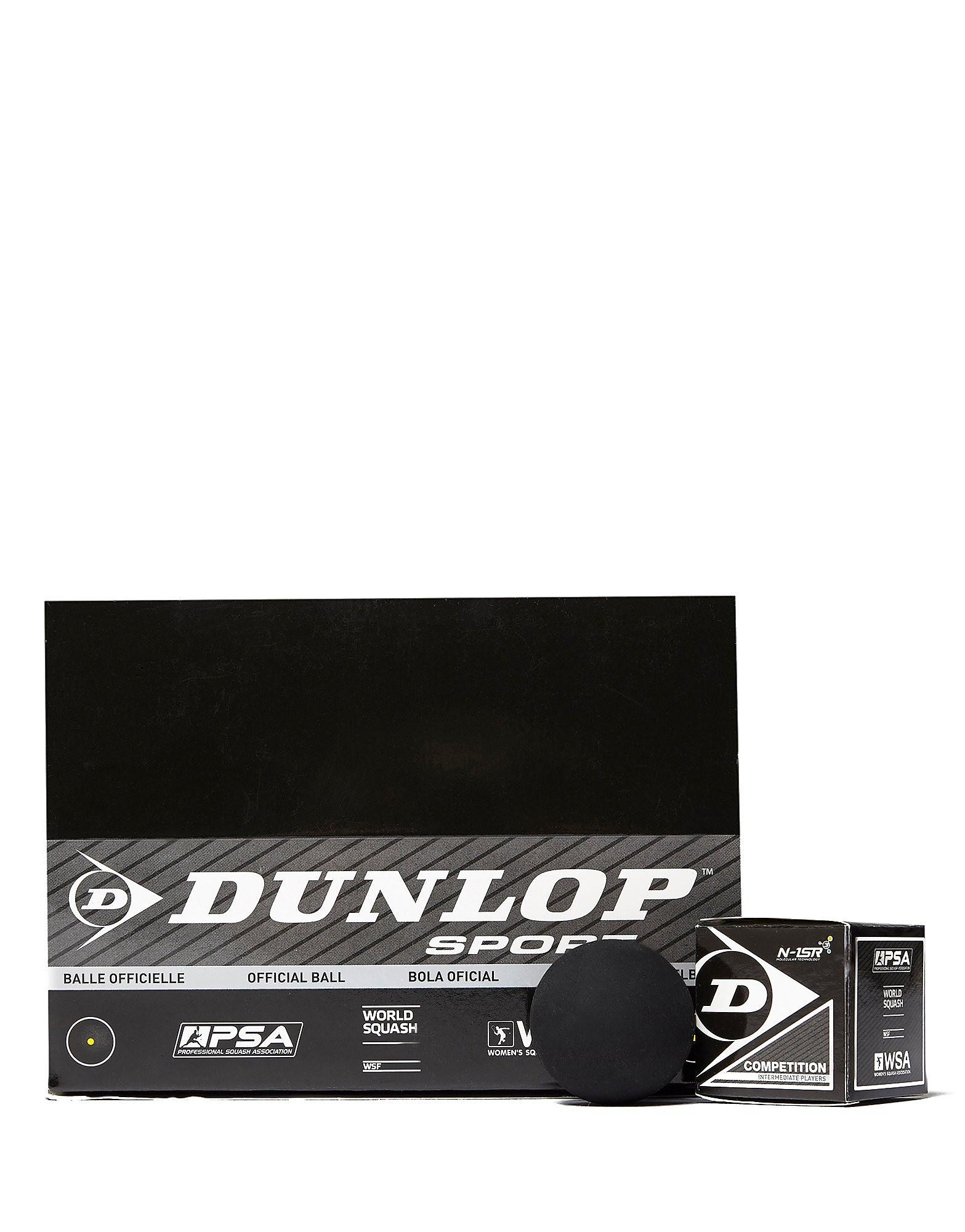 Dunlop Competition Squash Balls (Single Spot)
