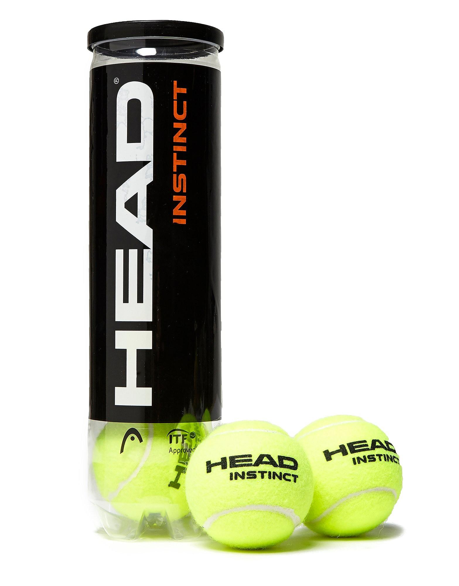 Head Instinct Tennis Balls (4 Balls)