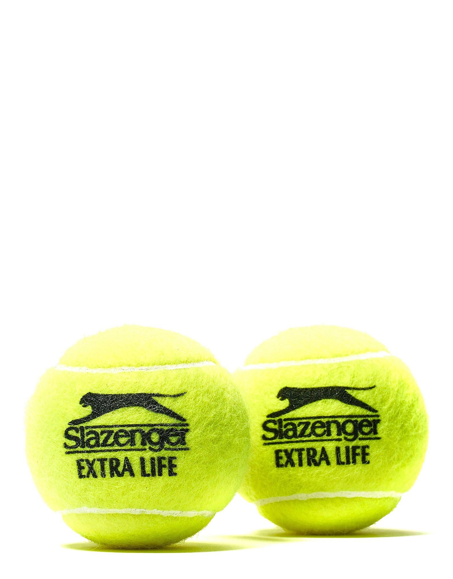 Slazenger Wimbledon Extra Life Tennis 4 Balls