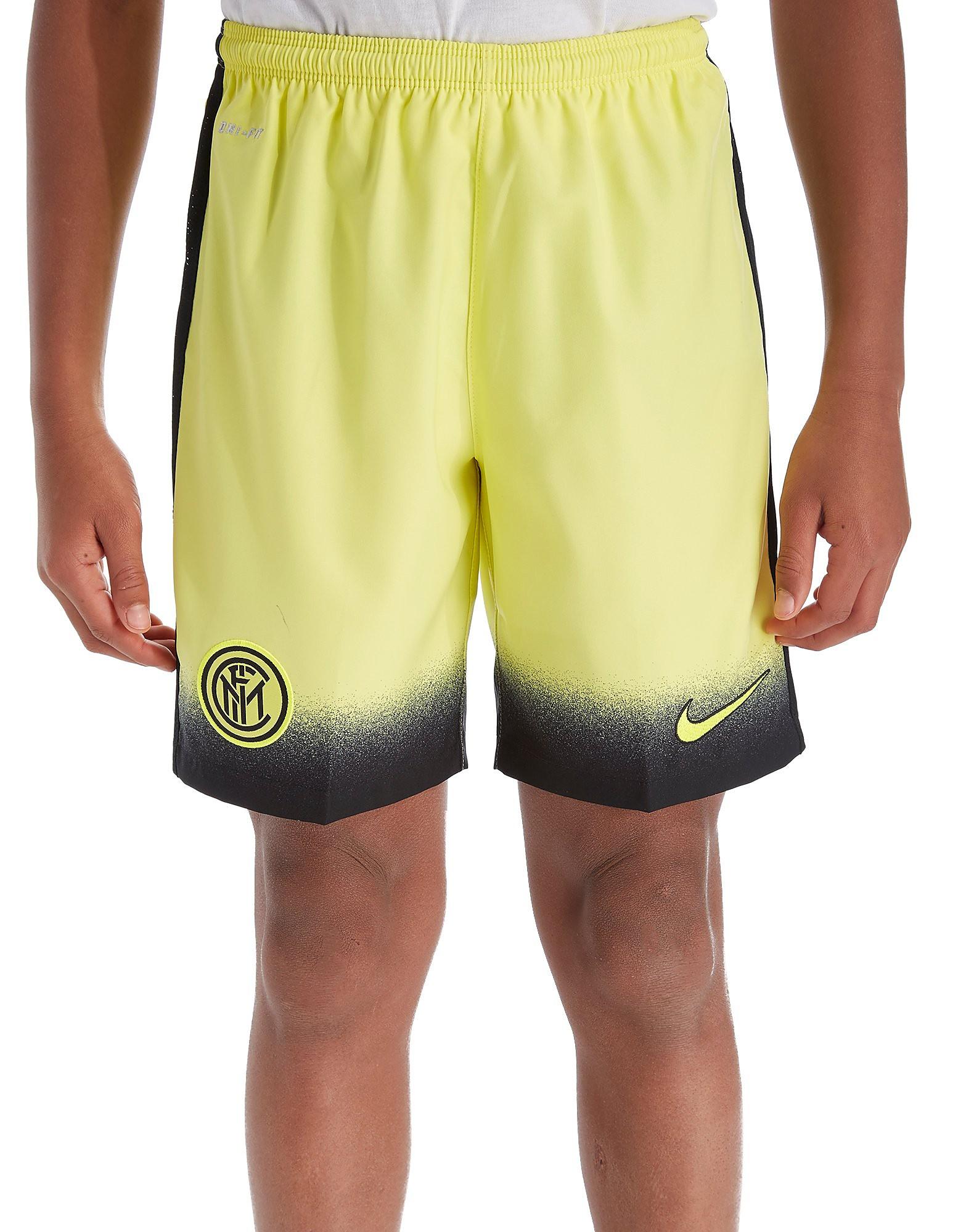 Nike Inter Milan 2015/16 Alternate Shorts Junior