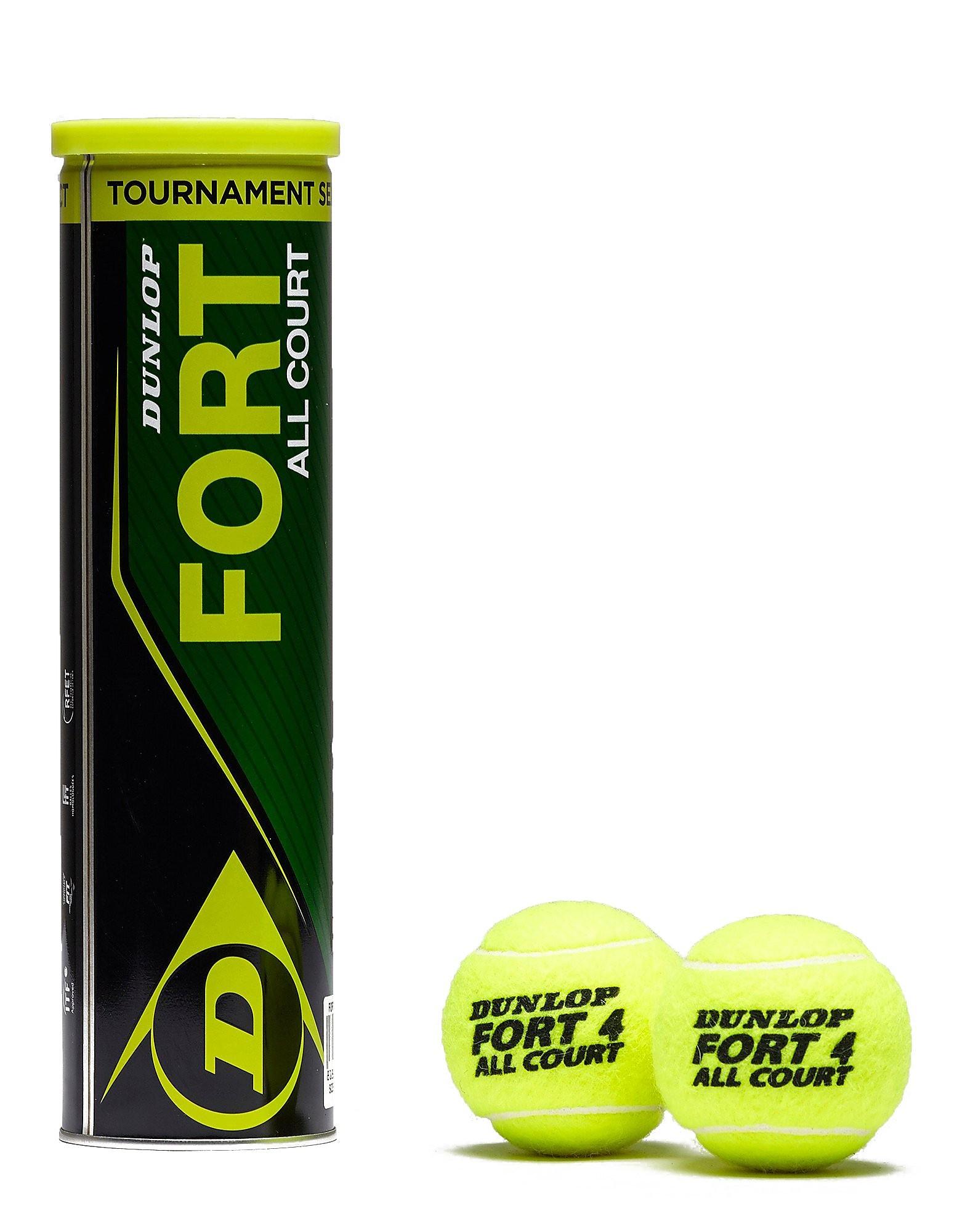 Dunlop Fort All Court Tennis Balls 4 Balls