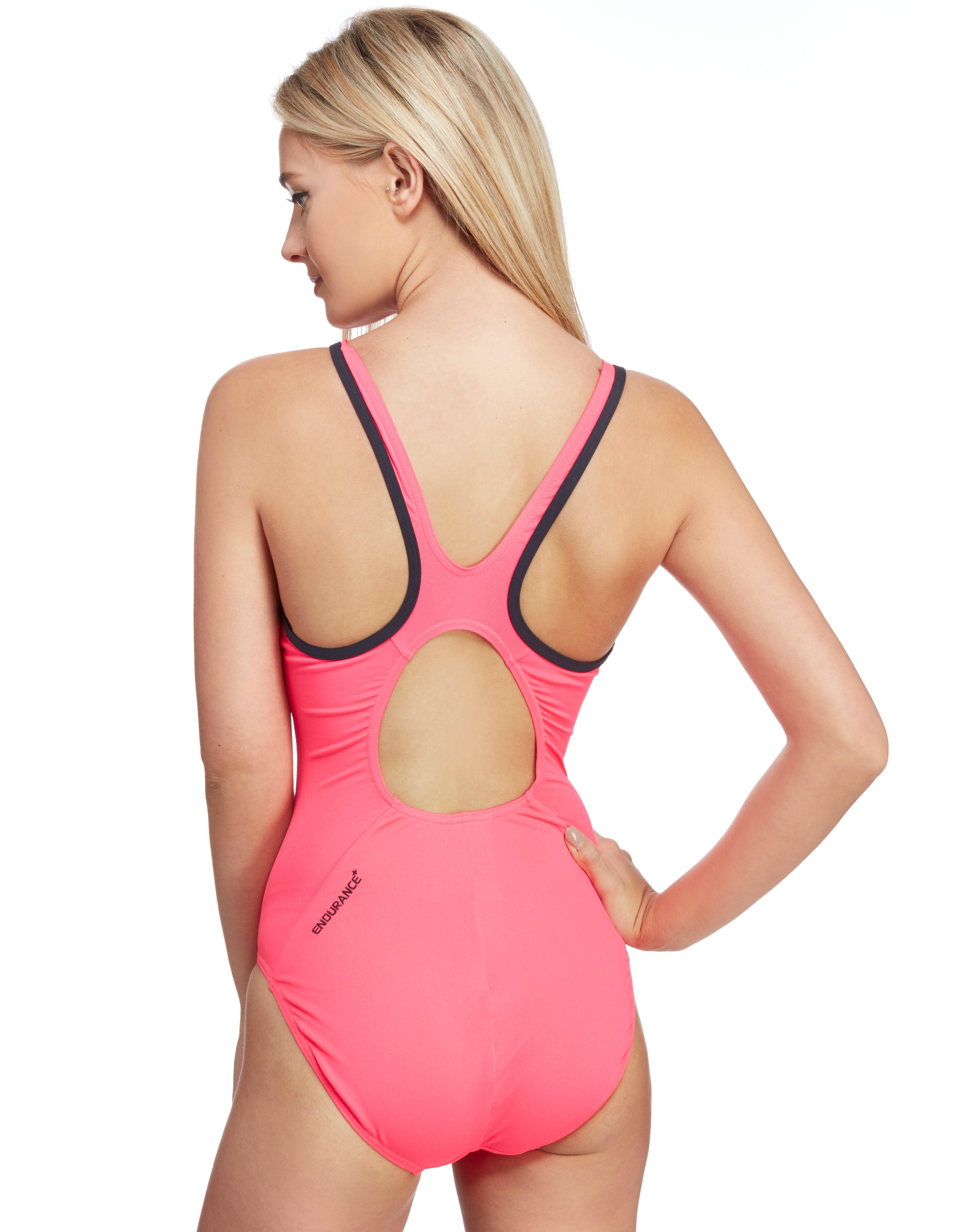 Speedo Monogram Muscleback Swimsuit