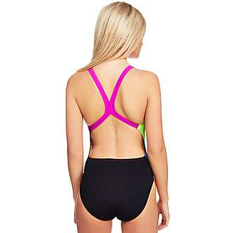 Speedo Collido Placement Digital Powerback Swimsuit