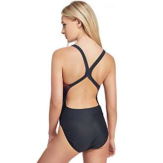 Speedo Samba Blend Placement Powerback Swimsuit