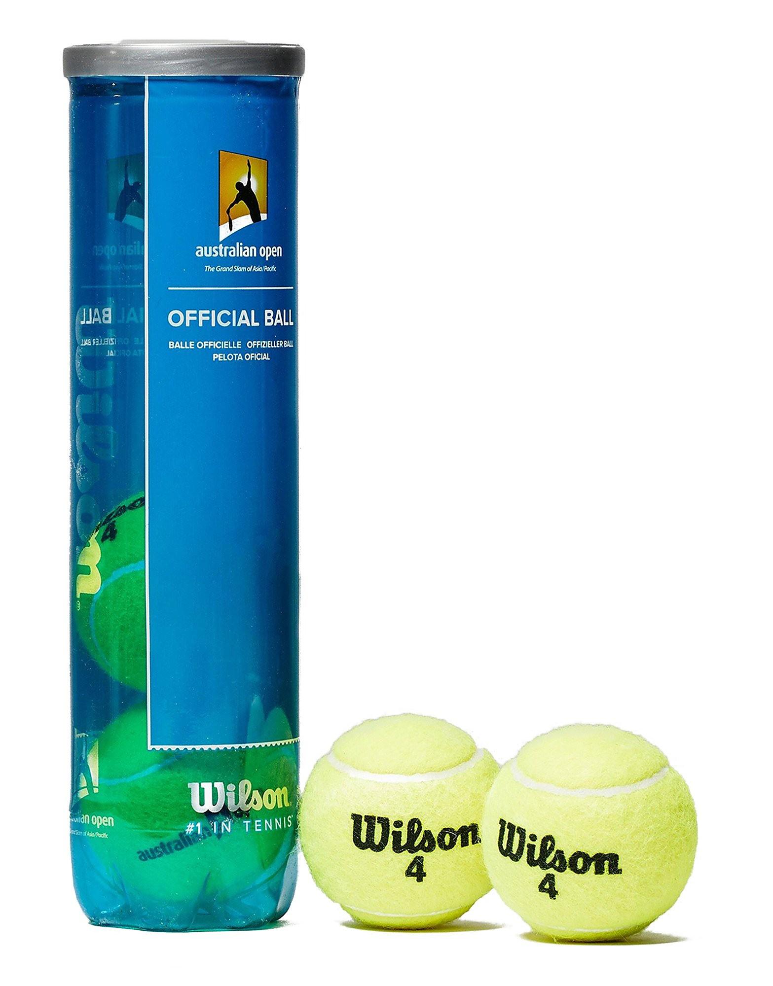Wilson Australian Open Tennis Balls (4 Balls)