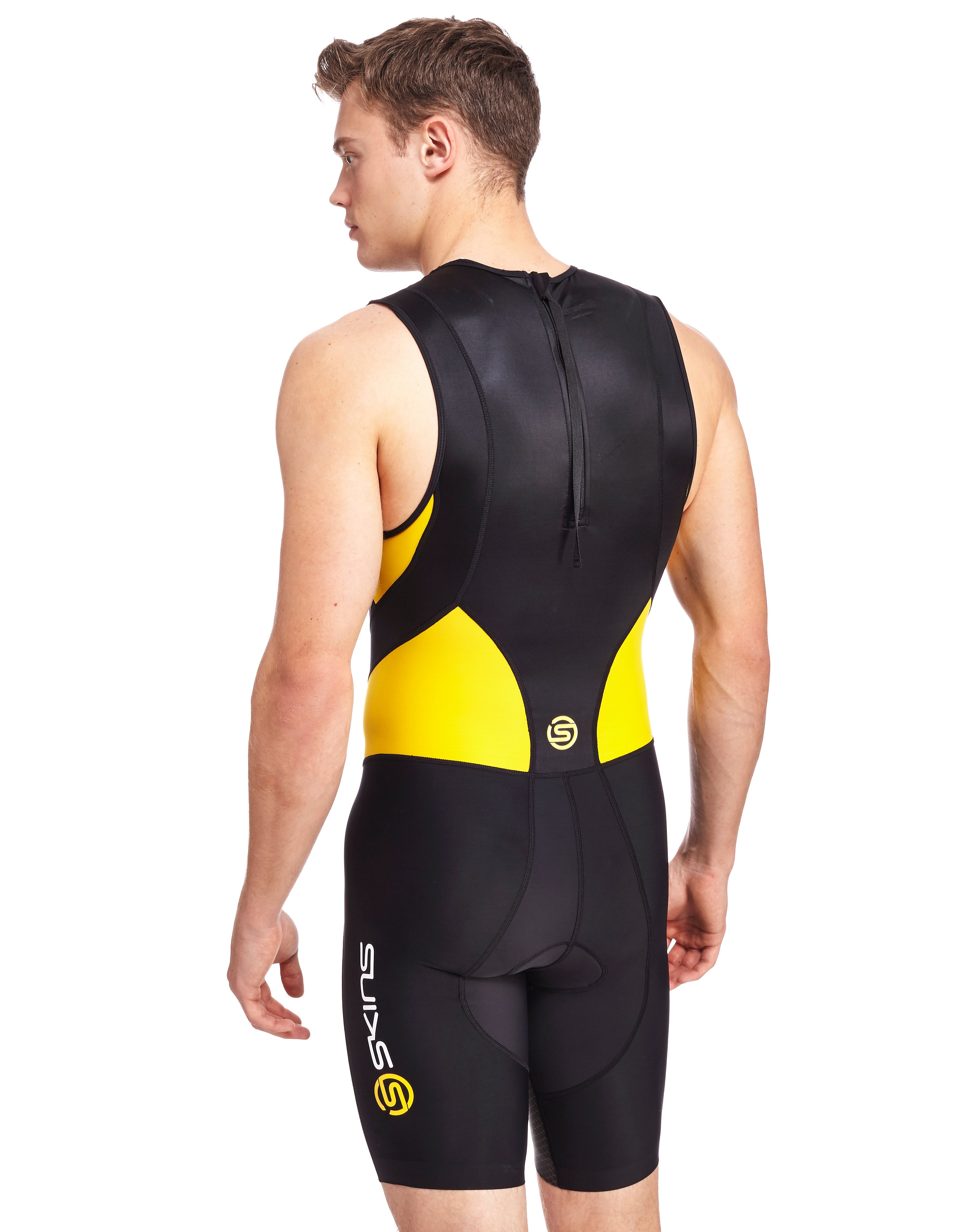 Skins 400 Compression Sleeveless Back Zip Tri Suit